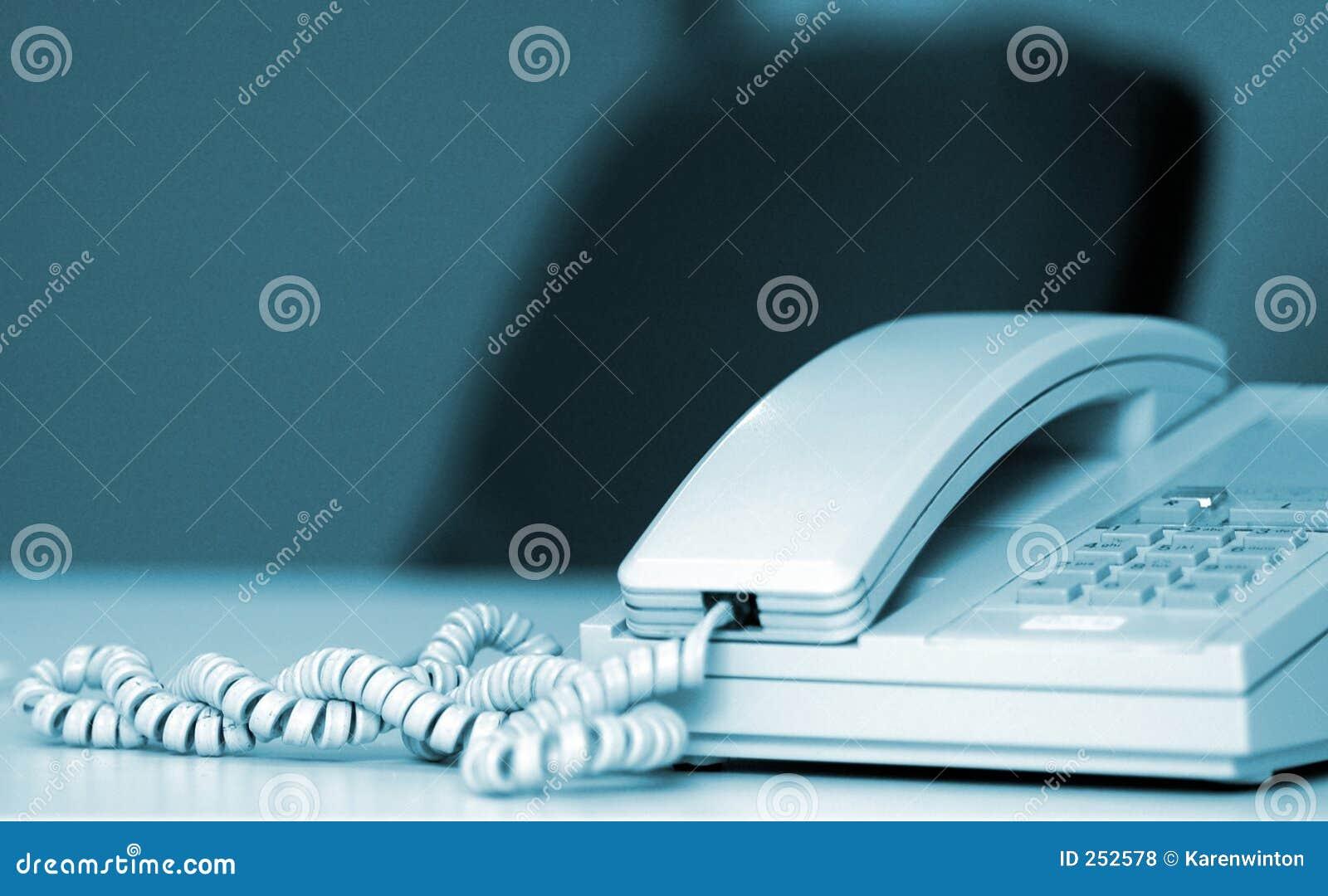 De telefoon van het bureau