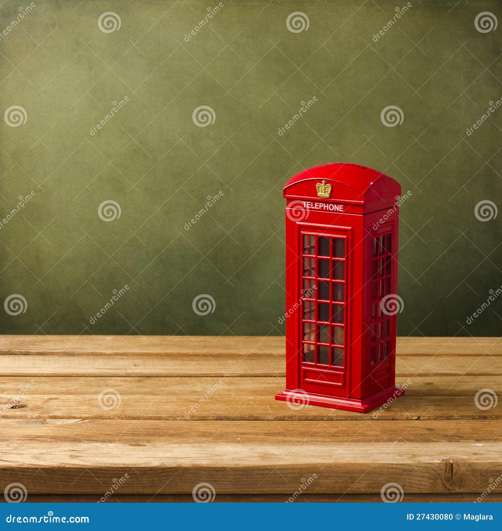 De telefooncel van Londen moneybox