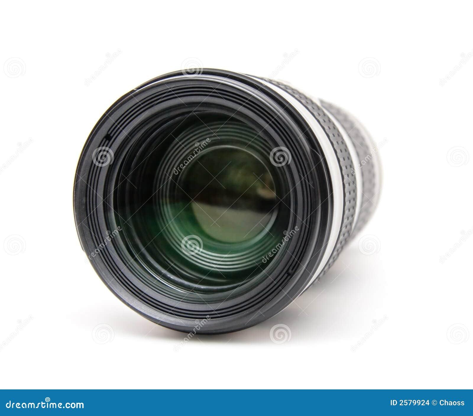 De telelens van de camera