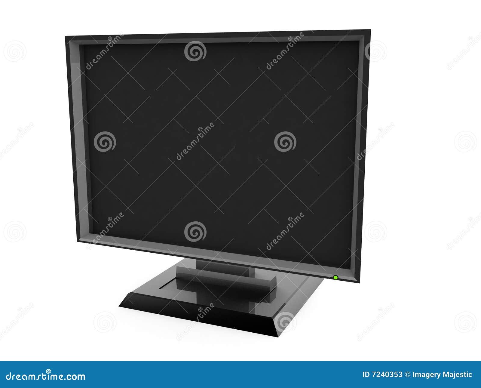 De televisie van het plasma
