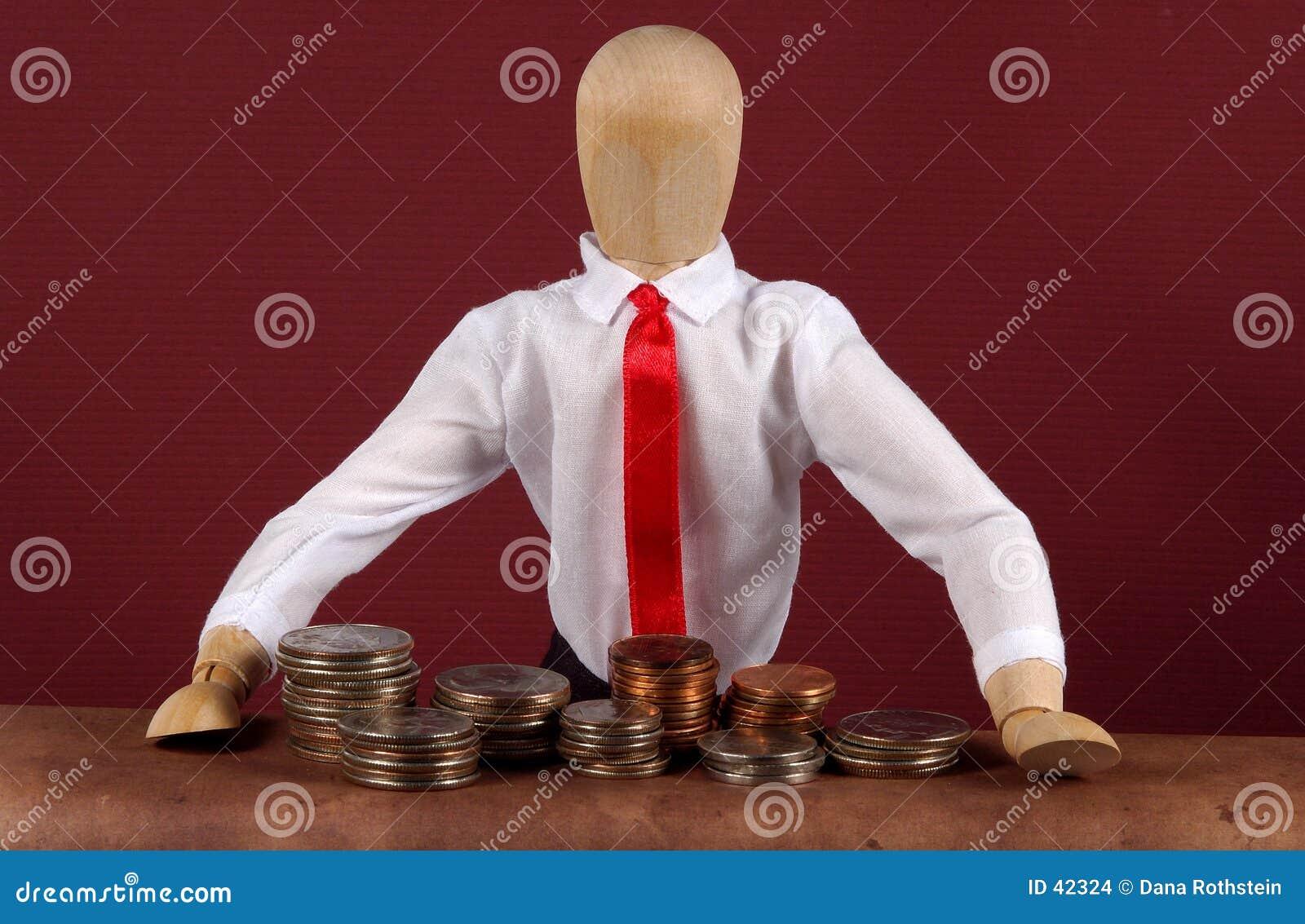 De Teller van de bank