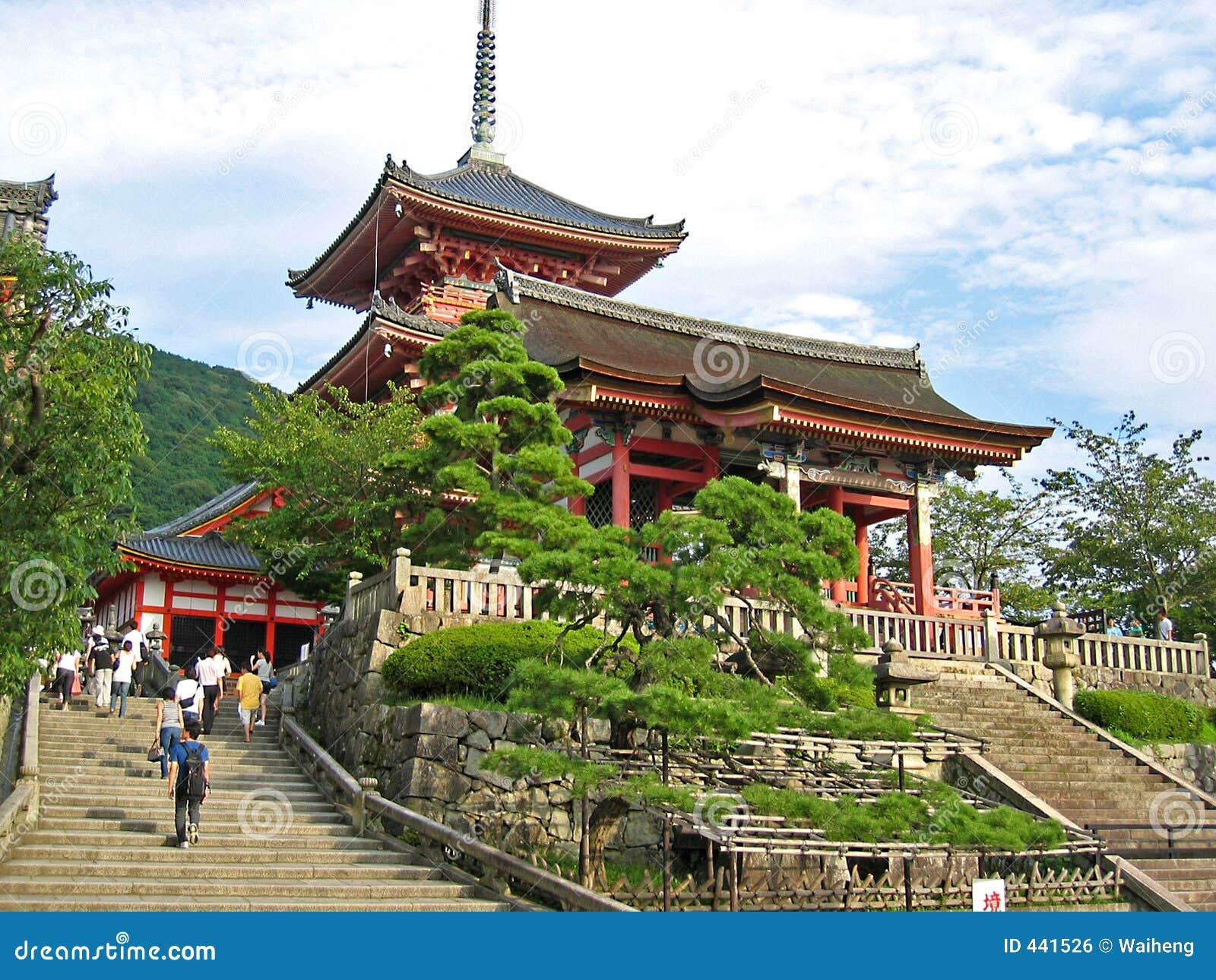 De Tempel Japan van Kiyomizudera