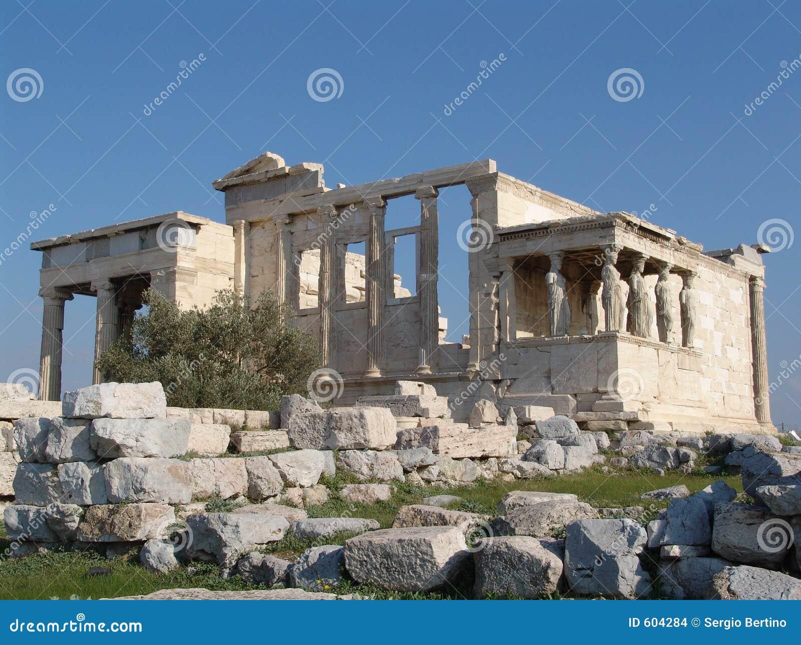 De tempel van Athena Nike