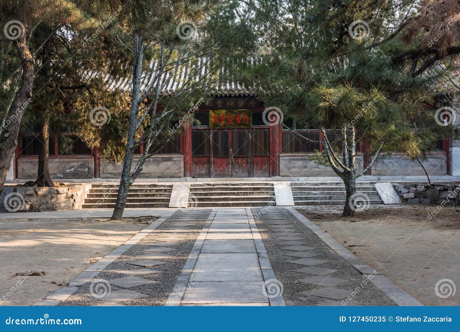 De Tempel van Confucius van Peking