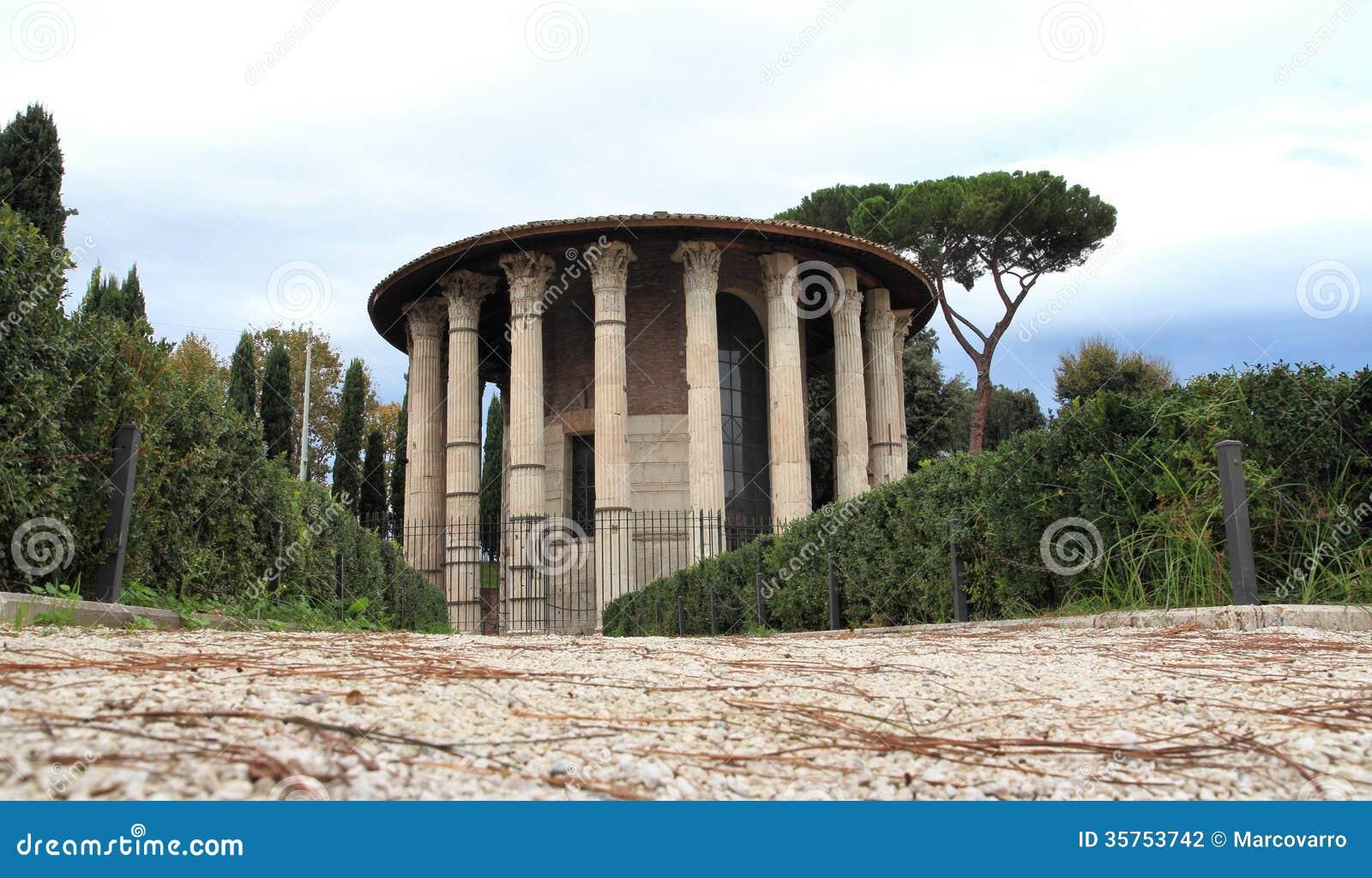 De tempel van Hercules
