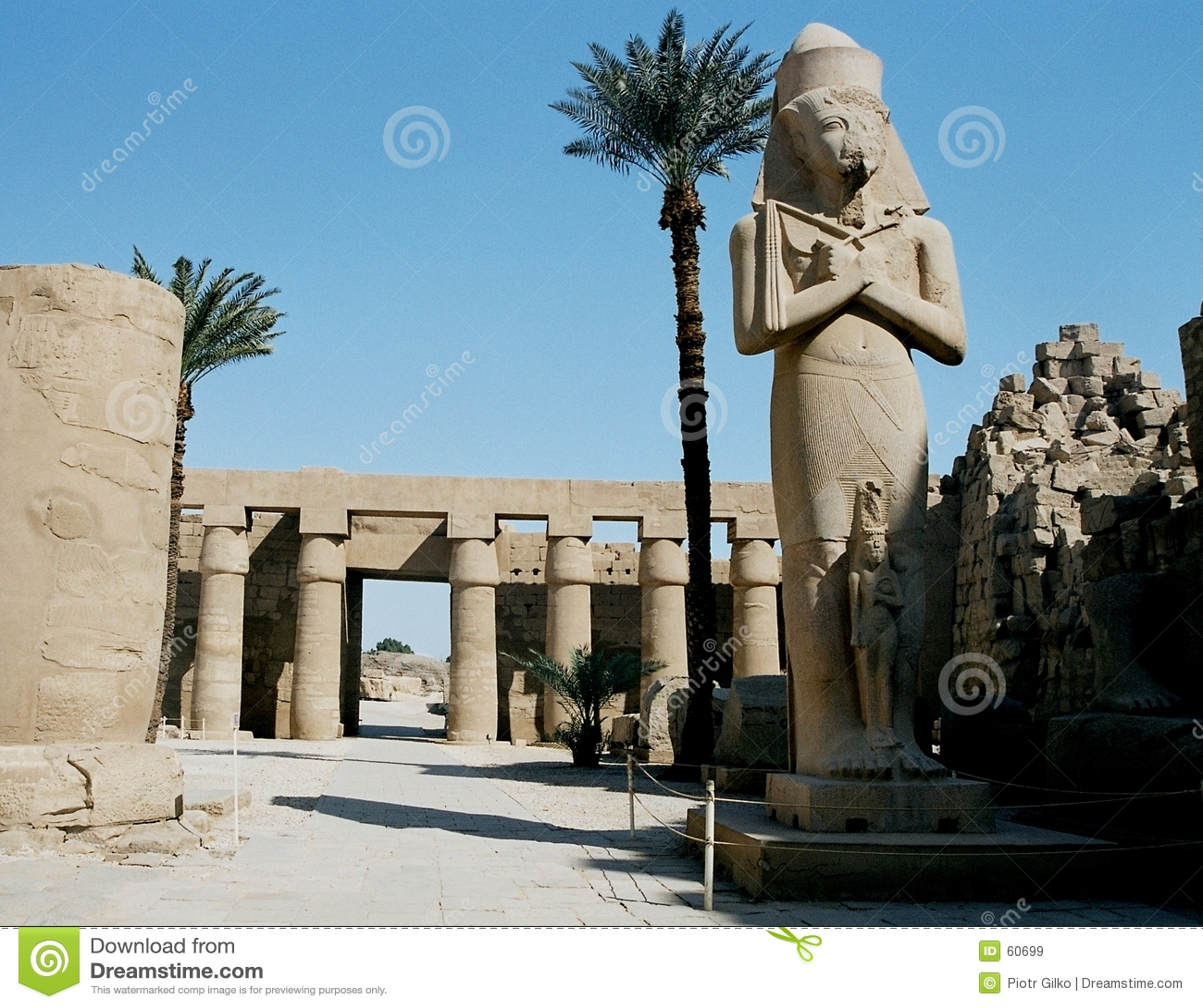 De Tempel van Karnak.