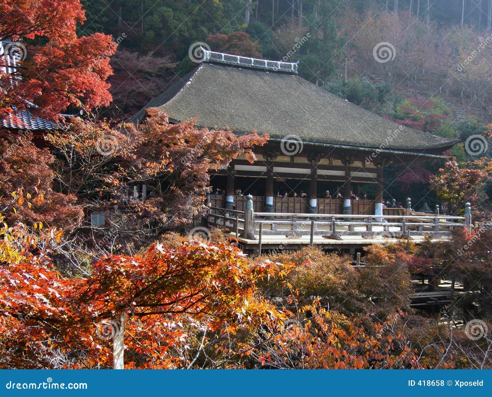 De Tempel van Kyoto Kiyomizu