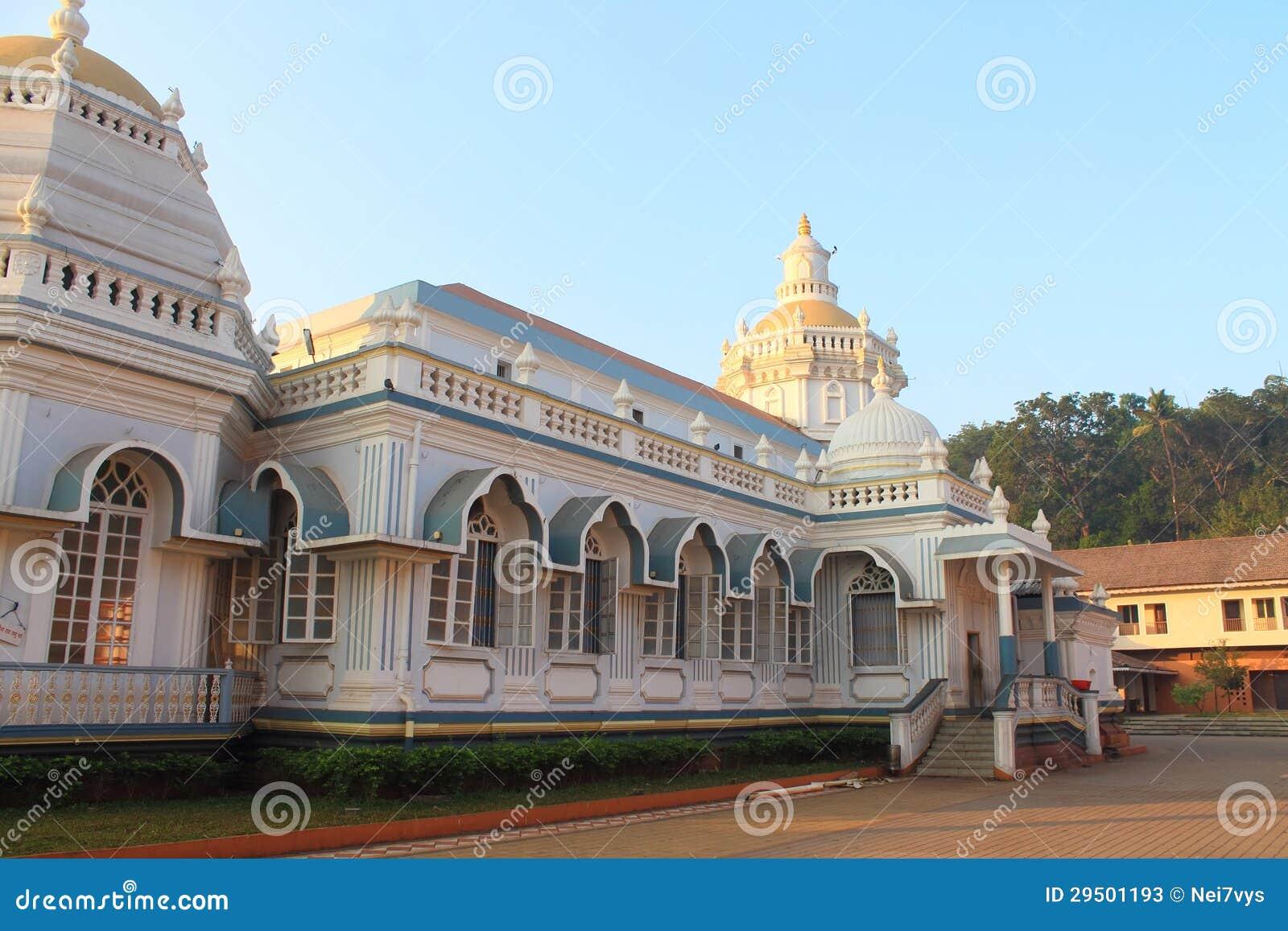 De tempel van Mangueshi van Shri in Goa