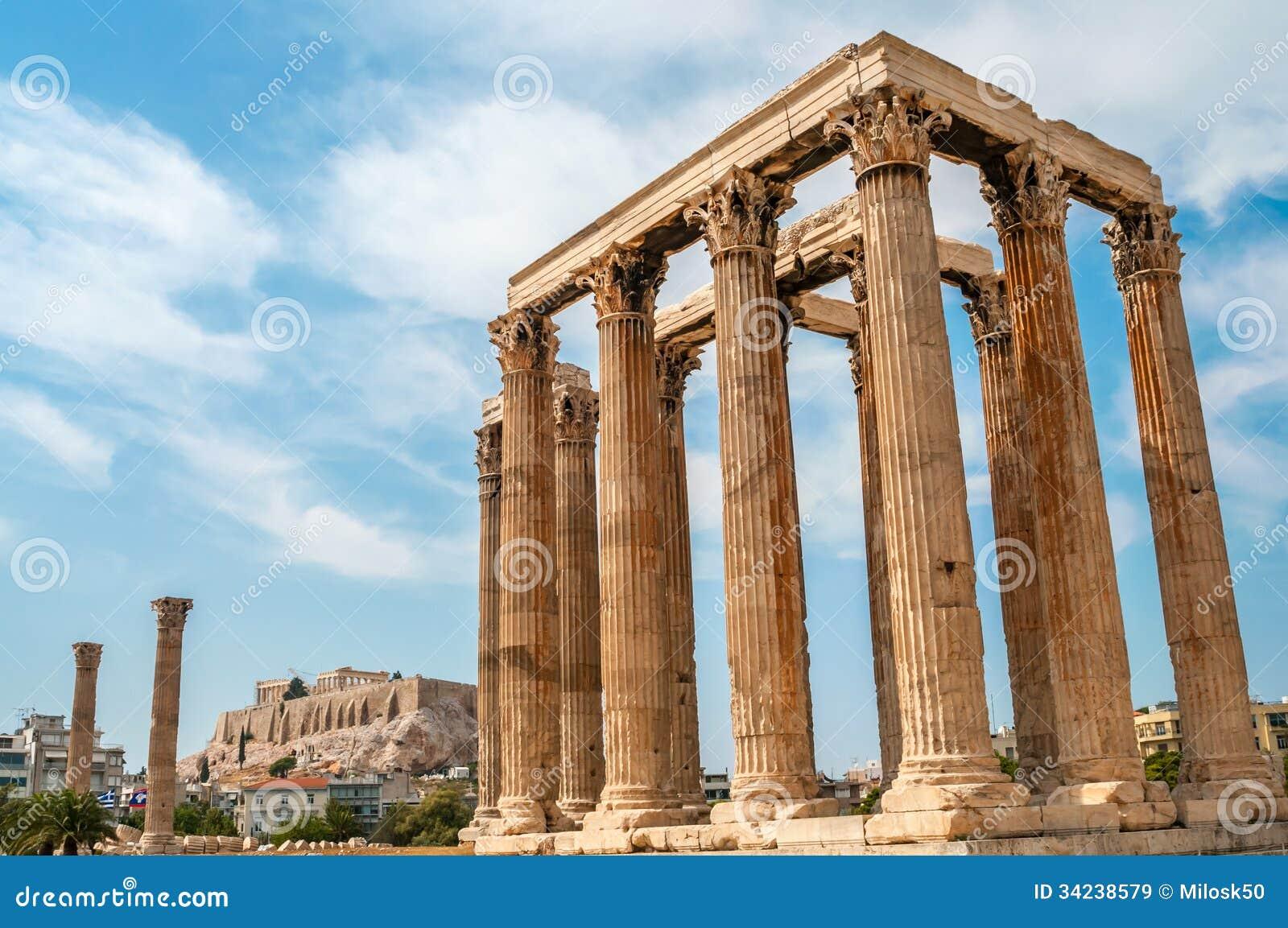 De Tempel van Olympian Zeus