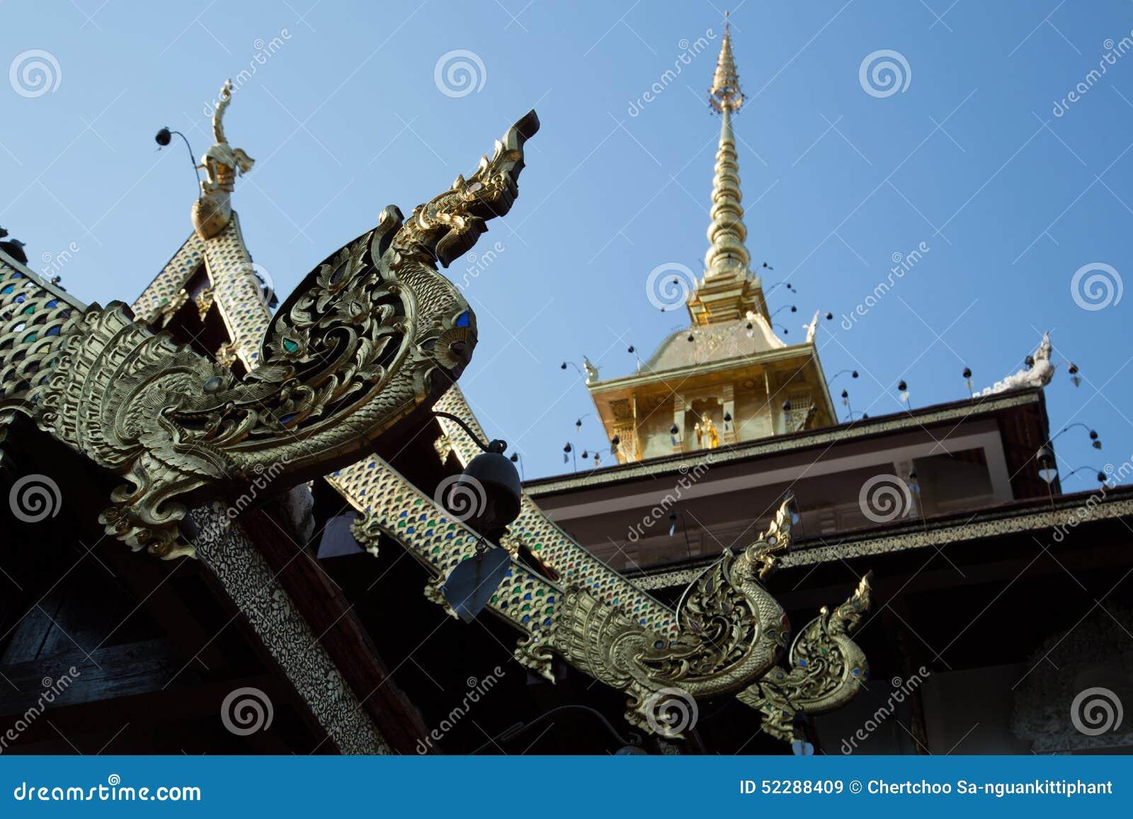 De tempeldak van Boedha