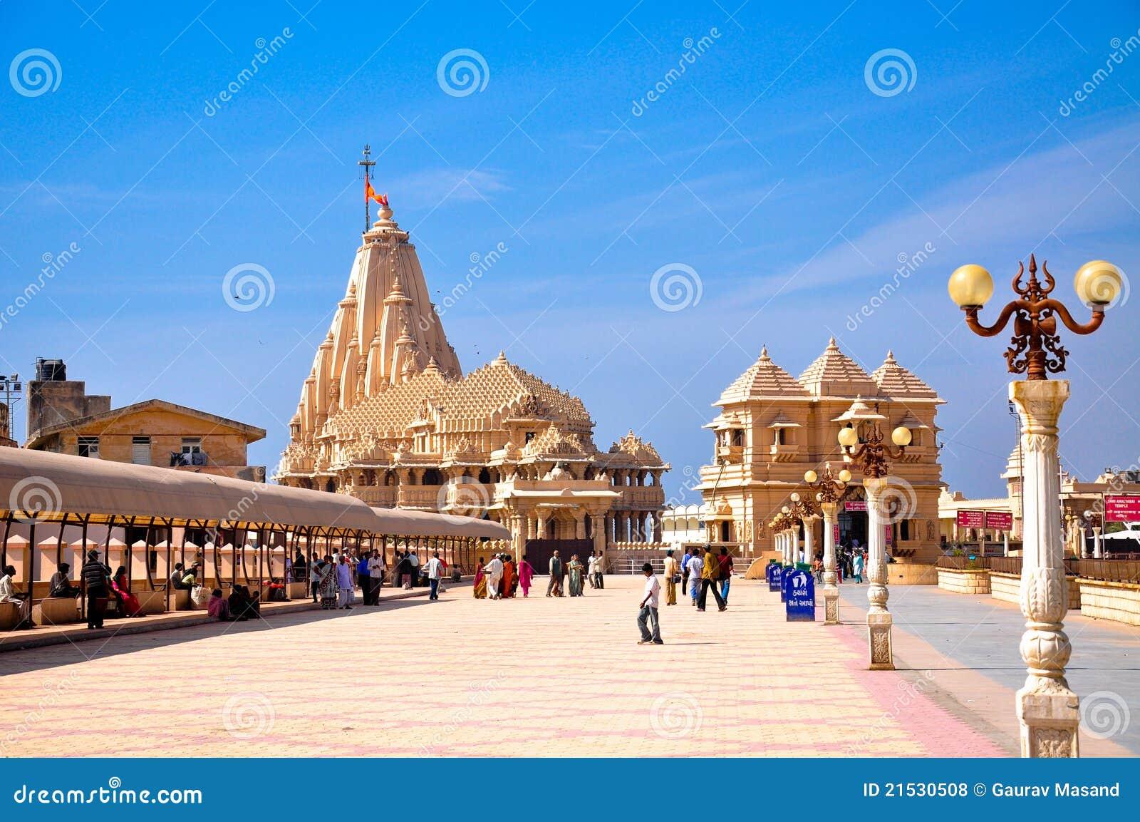 De tempelsamenstelling van Somnath
