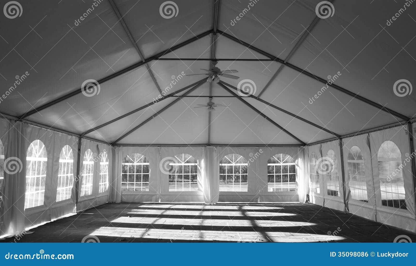 De Tent binnenlandse Mening van de huwelijkspartij