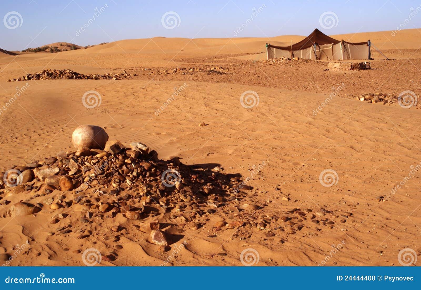 De tent van Berber
