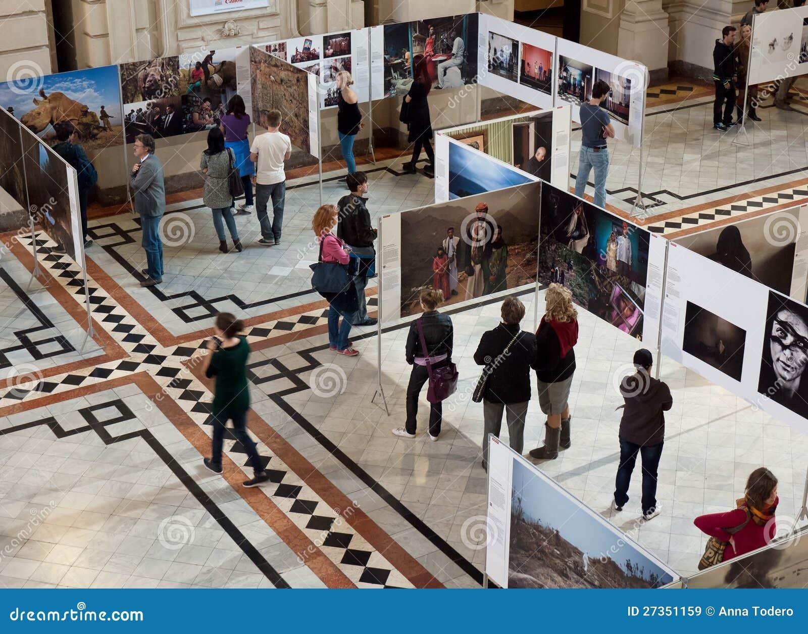 De Tentoonstelling Van World Press Photo In Boedapest