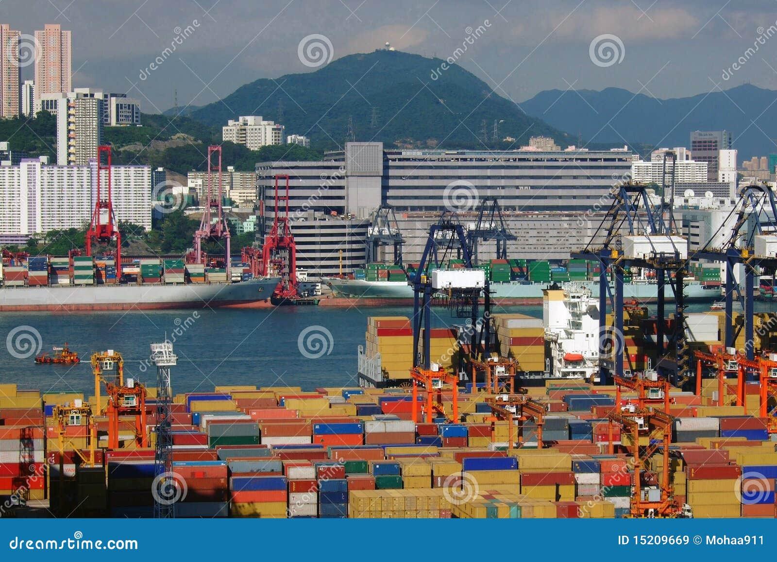 De Terminals van de container
