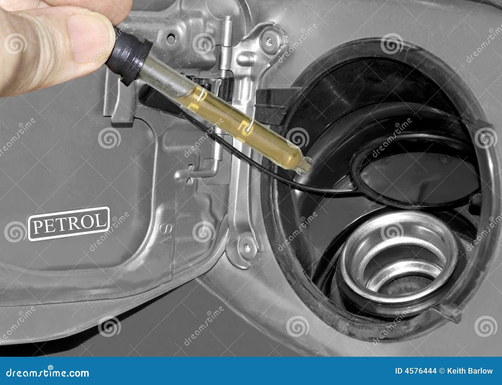 De Test van de brandstof