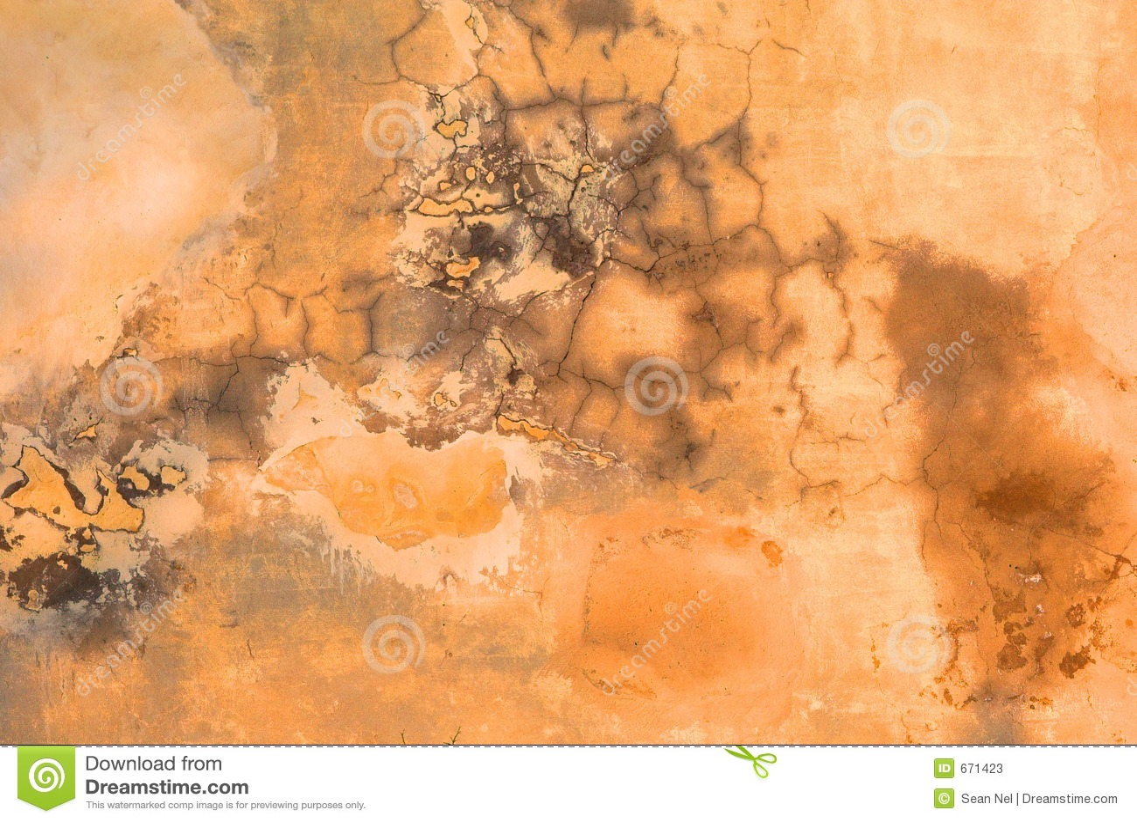 De Textuur van de Muur van Grunge