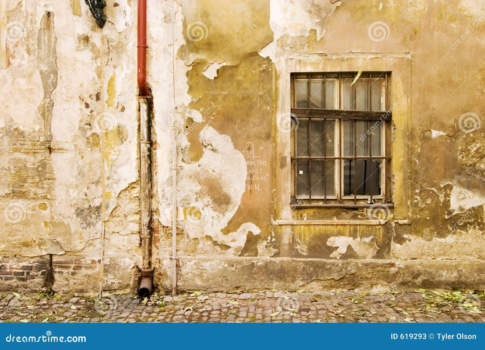 De Textuur van de Muur van Praag