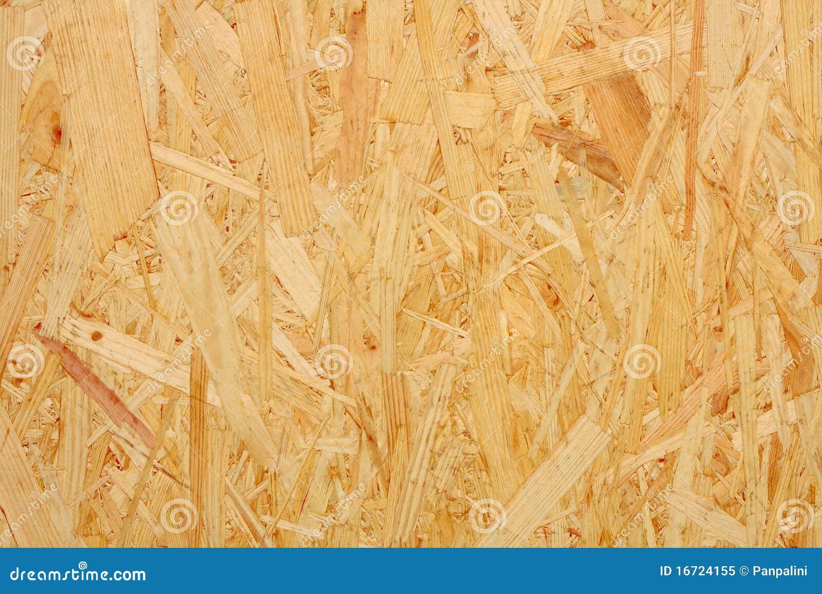 De Textuur van de spaanplaat