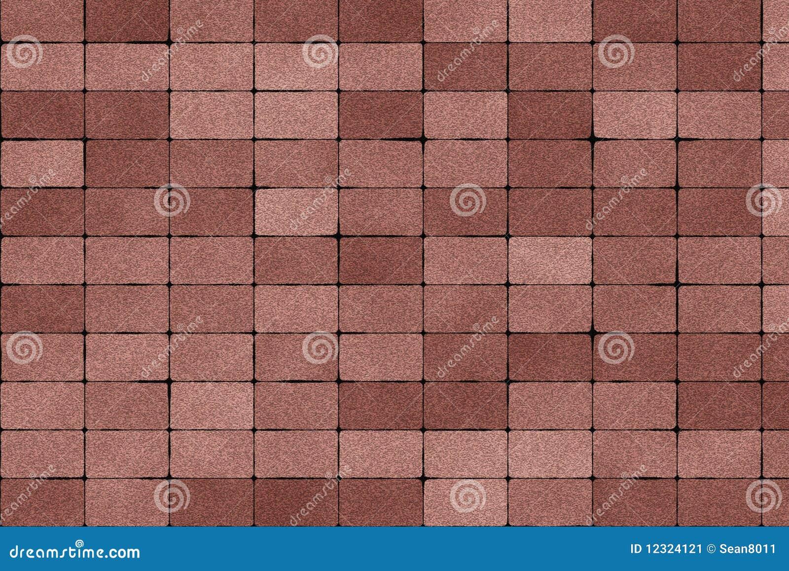 De textuur van de straatsteen