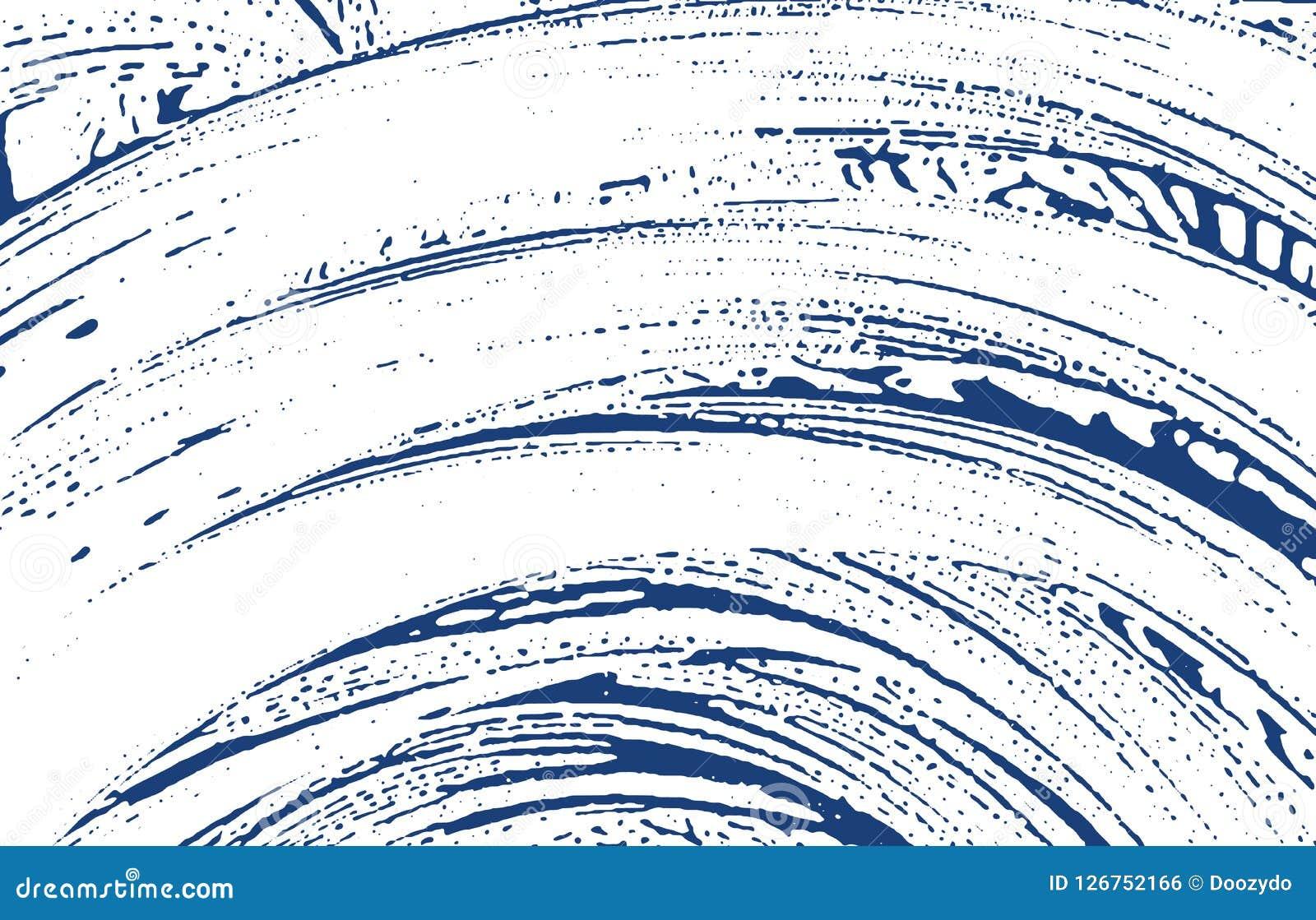 De textuur van Grunge Het ruwe spoor van de noodindigo Dramatische achtergrond Textuur van lawaai de vuile grunge oorsprong