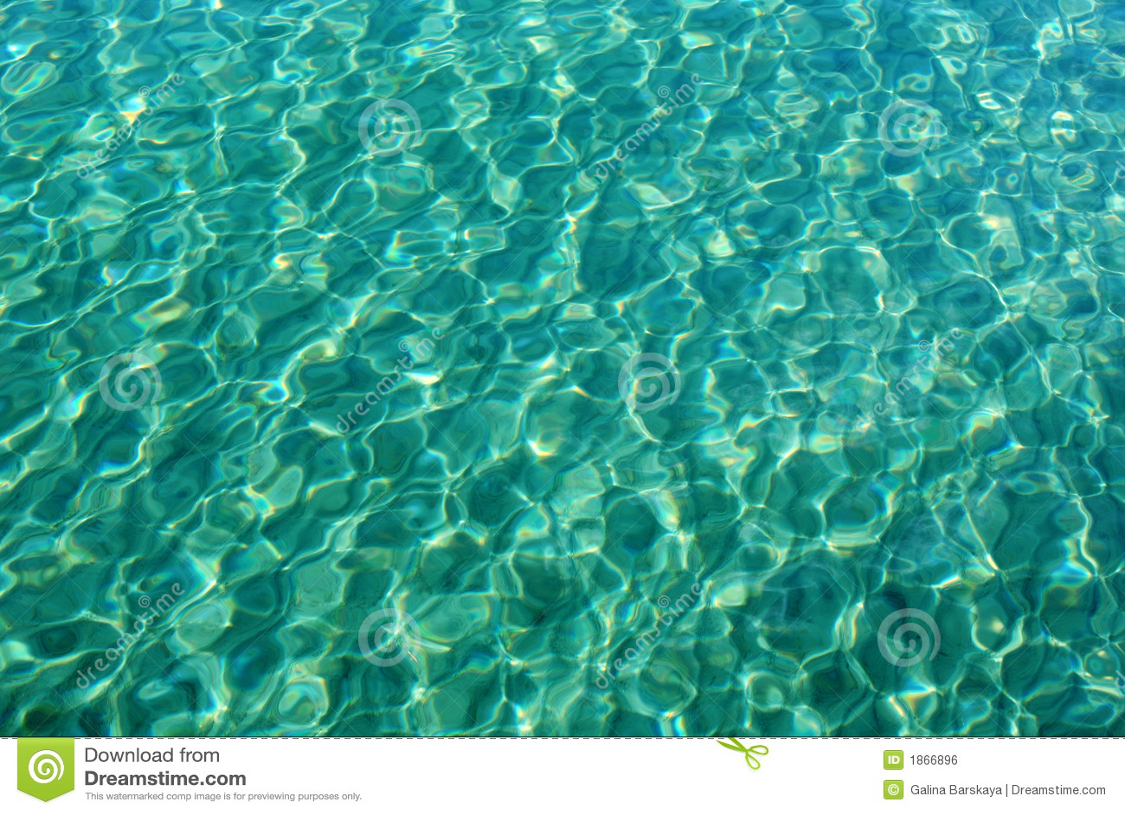 De textuur van het water