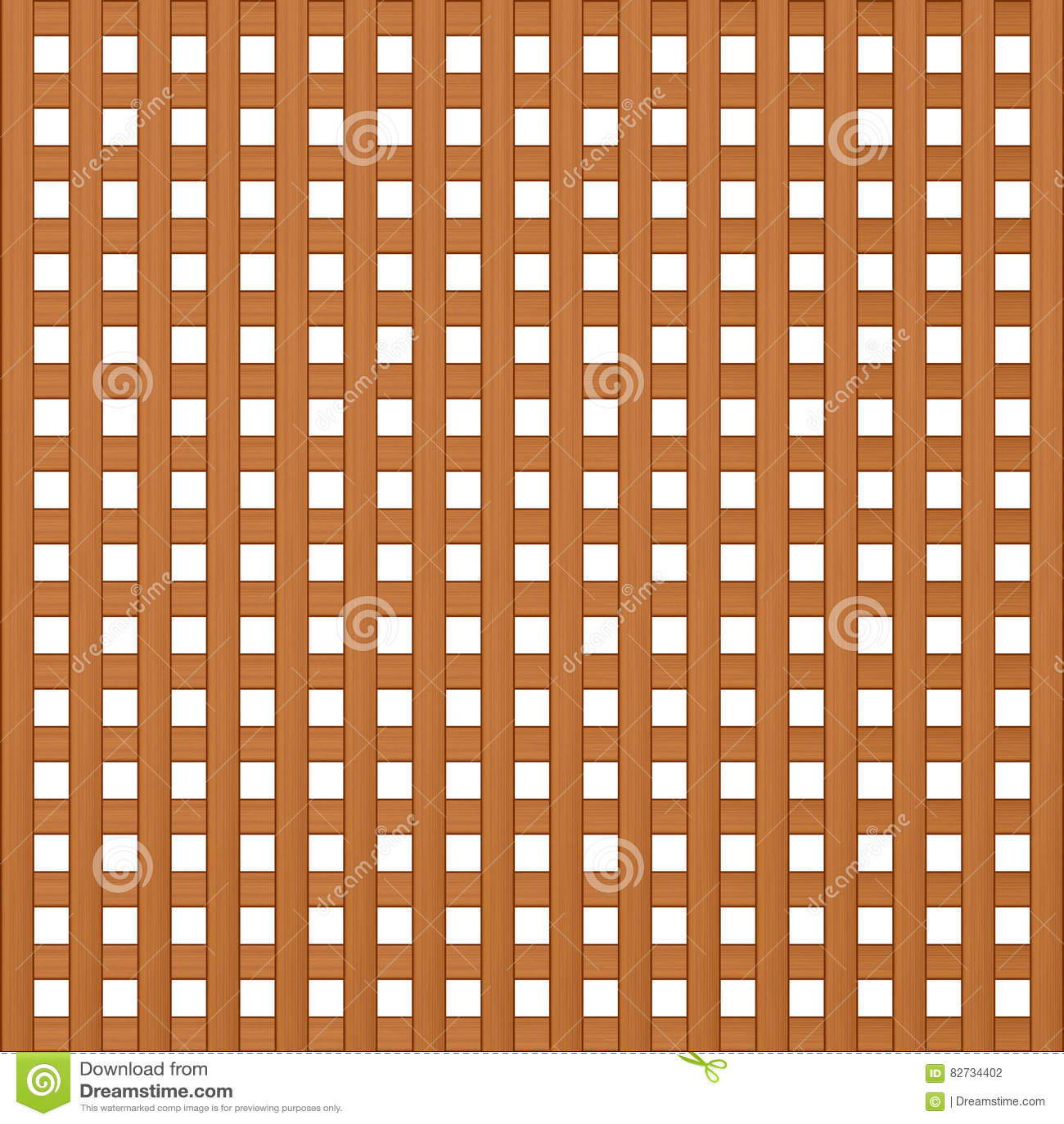 De textuur van houten latjes overlapt vierkant