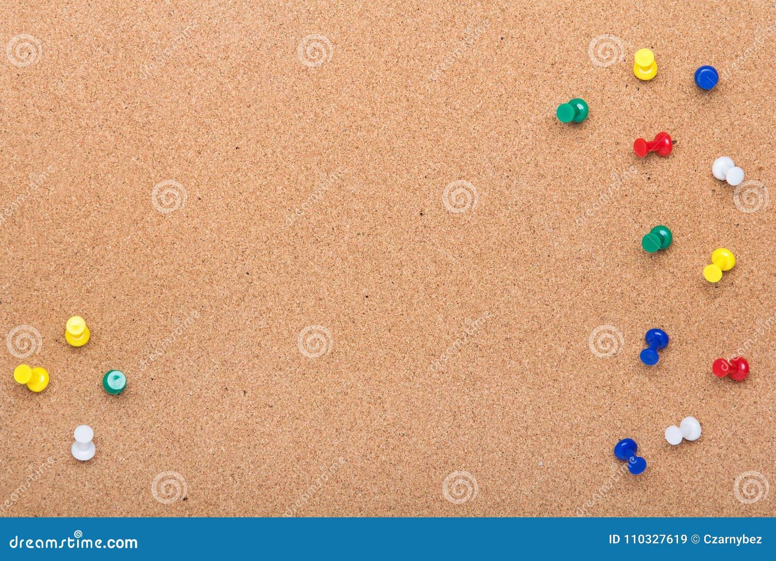 De textuur van de speldraad voor achtergrond en kleurrijk speldenkader