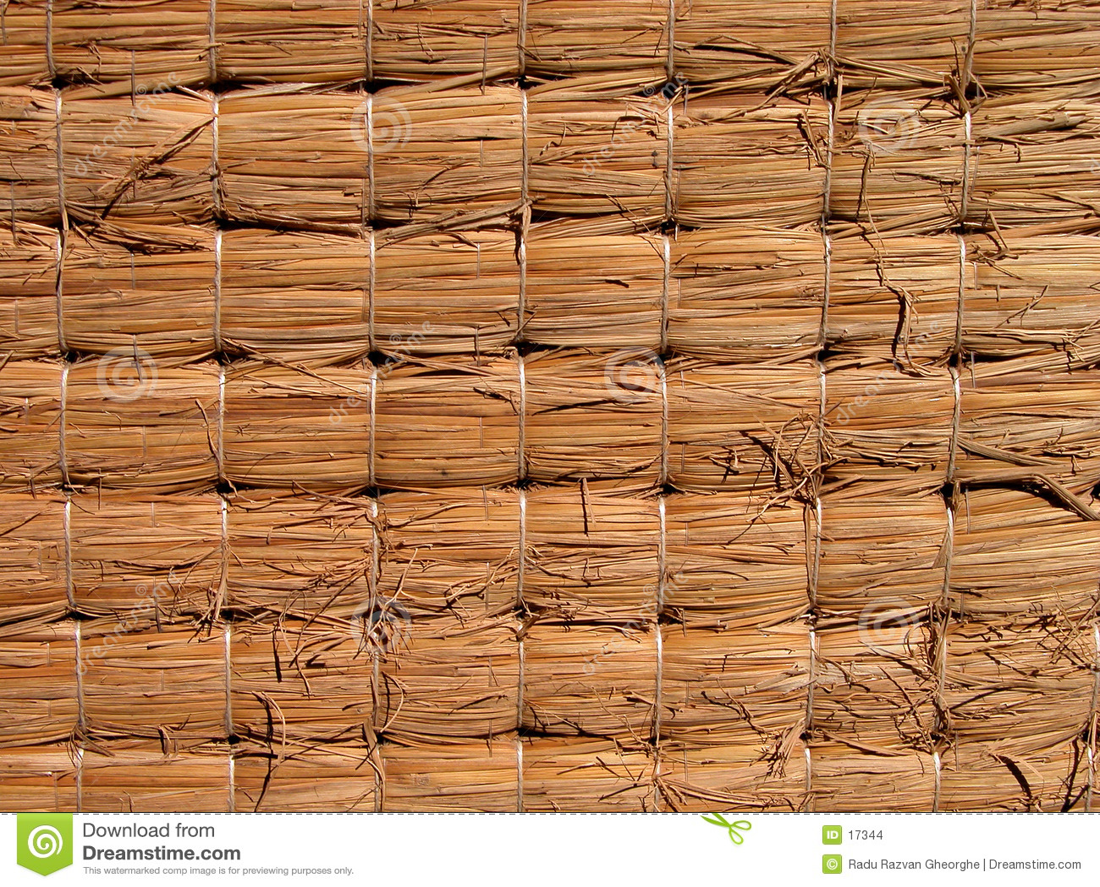 De textuur van Tatami