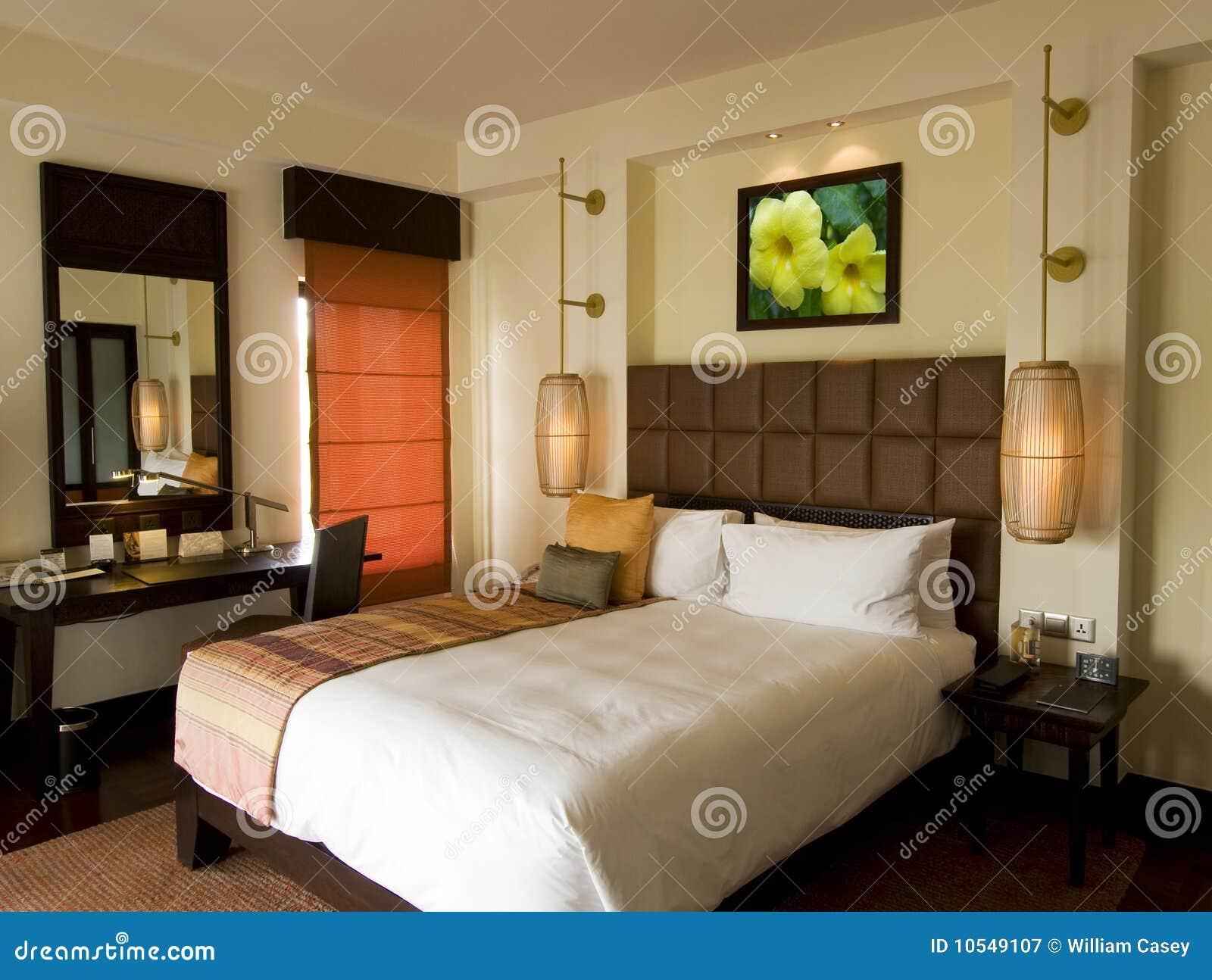 Slaapkamer Hotel Stijl : Tropical Resort Bedroom Style