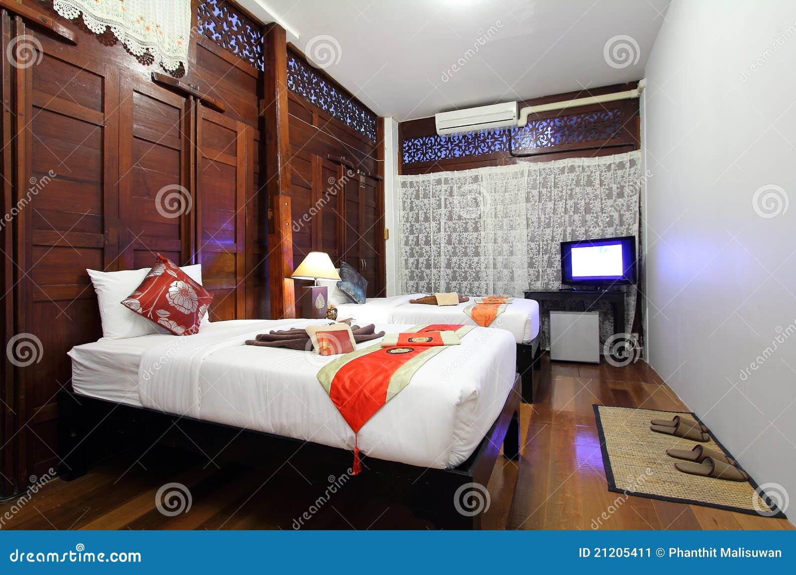 Slaapkamer Hotel Stijl : Tropical Style Bedroom