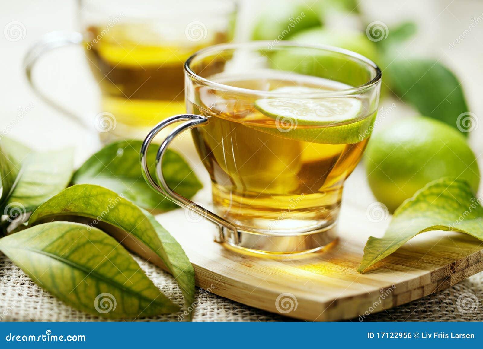 De thee van de citroen