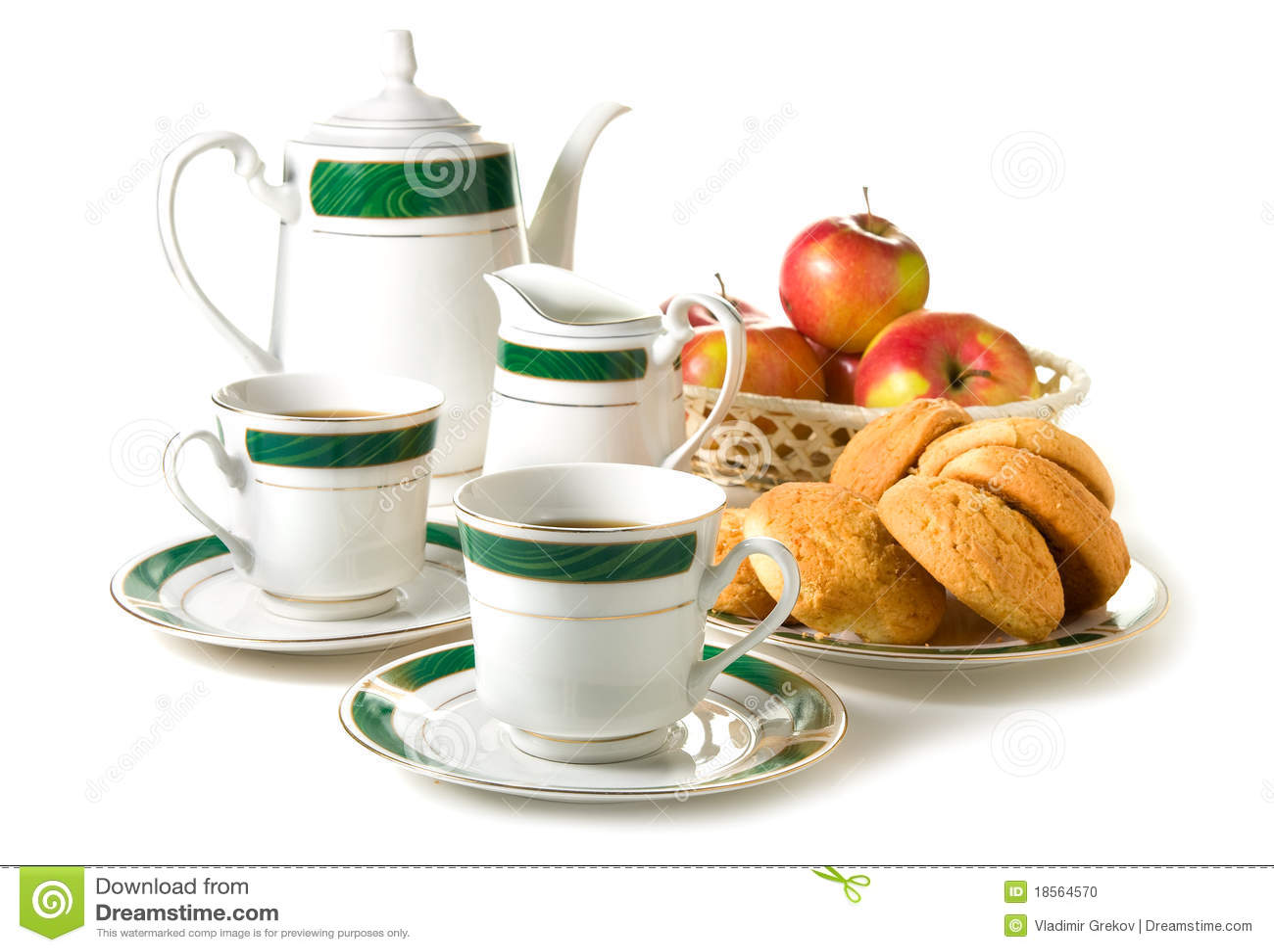 De thee van de middag