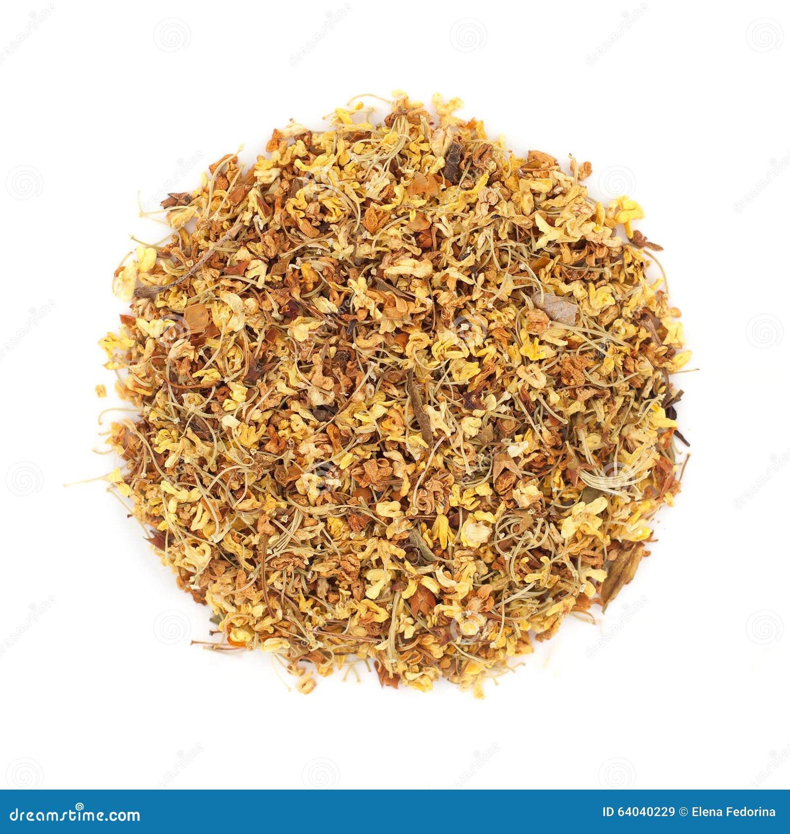De thee van de Osmanthusbloem