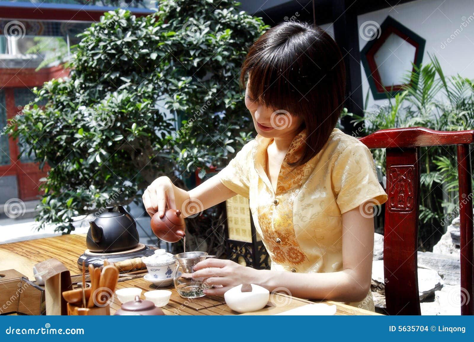 De theeart. van China.