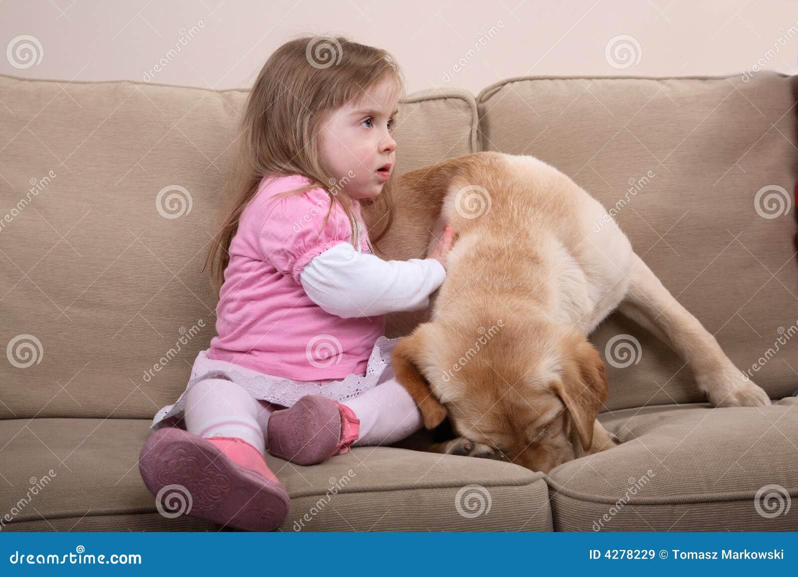 De Therapie en het Meisje van de hond