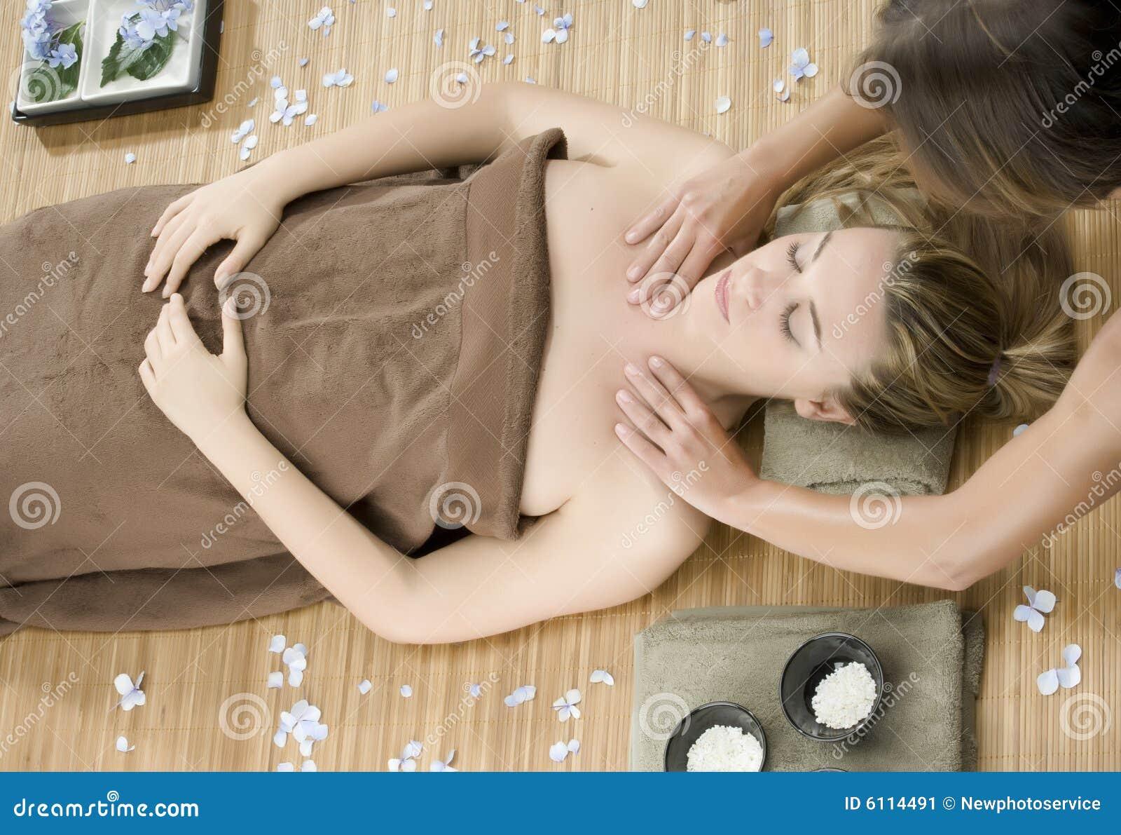 De therapie van de massage