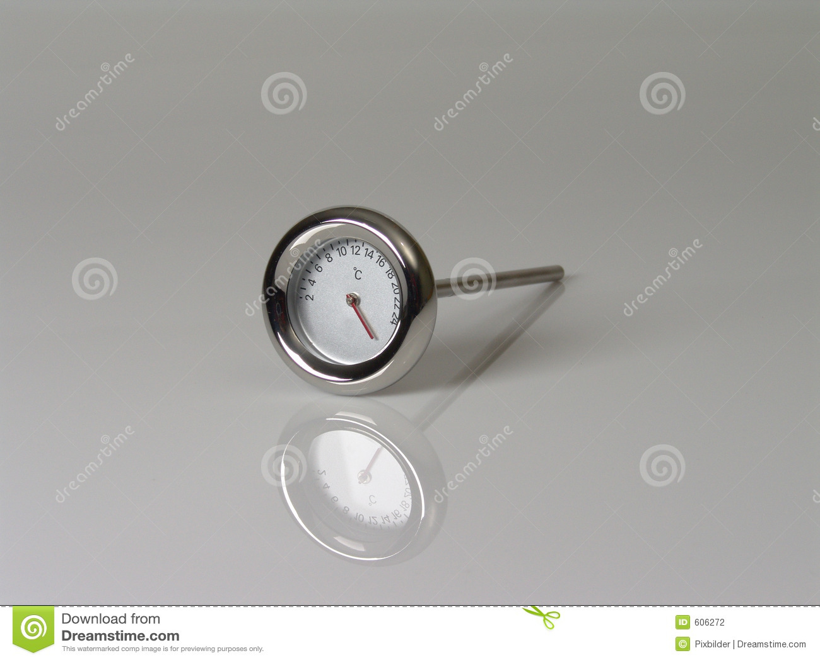 De thermometer van de wijn