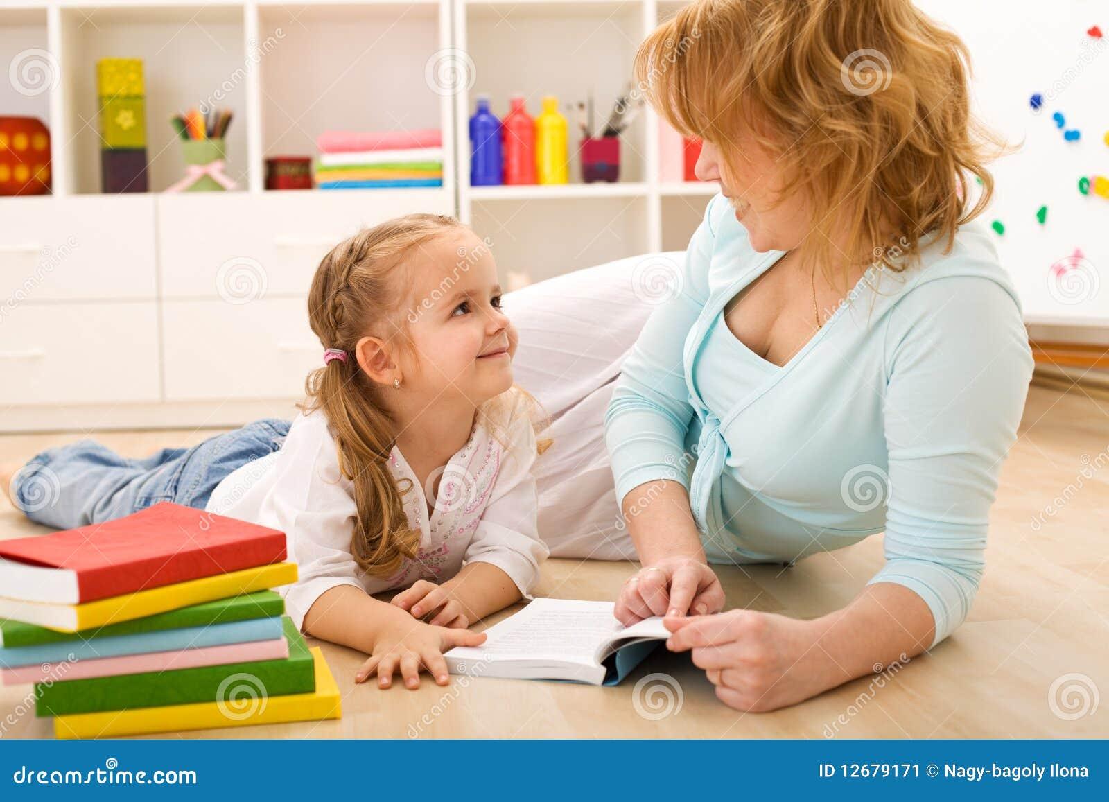 mom het onderwijs tienergeslacht
