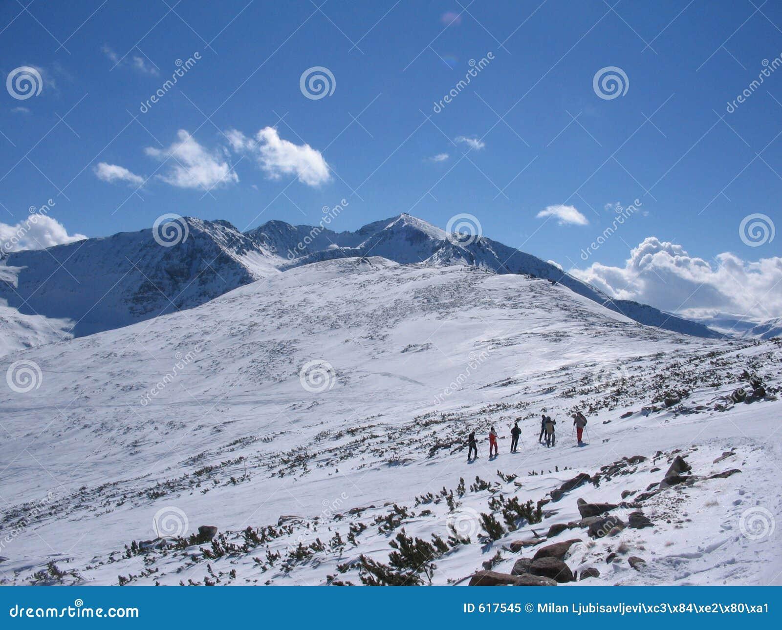 De toevlucht van de berg