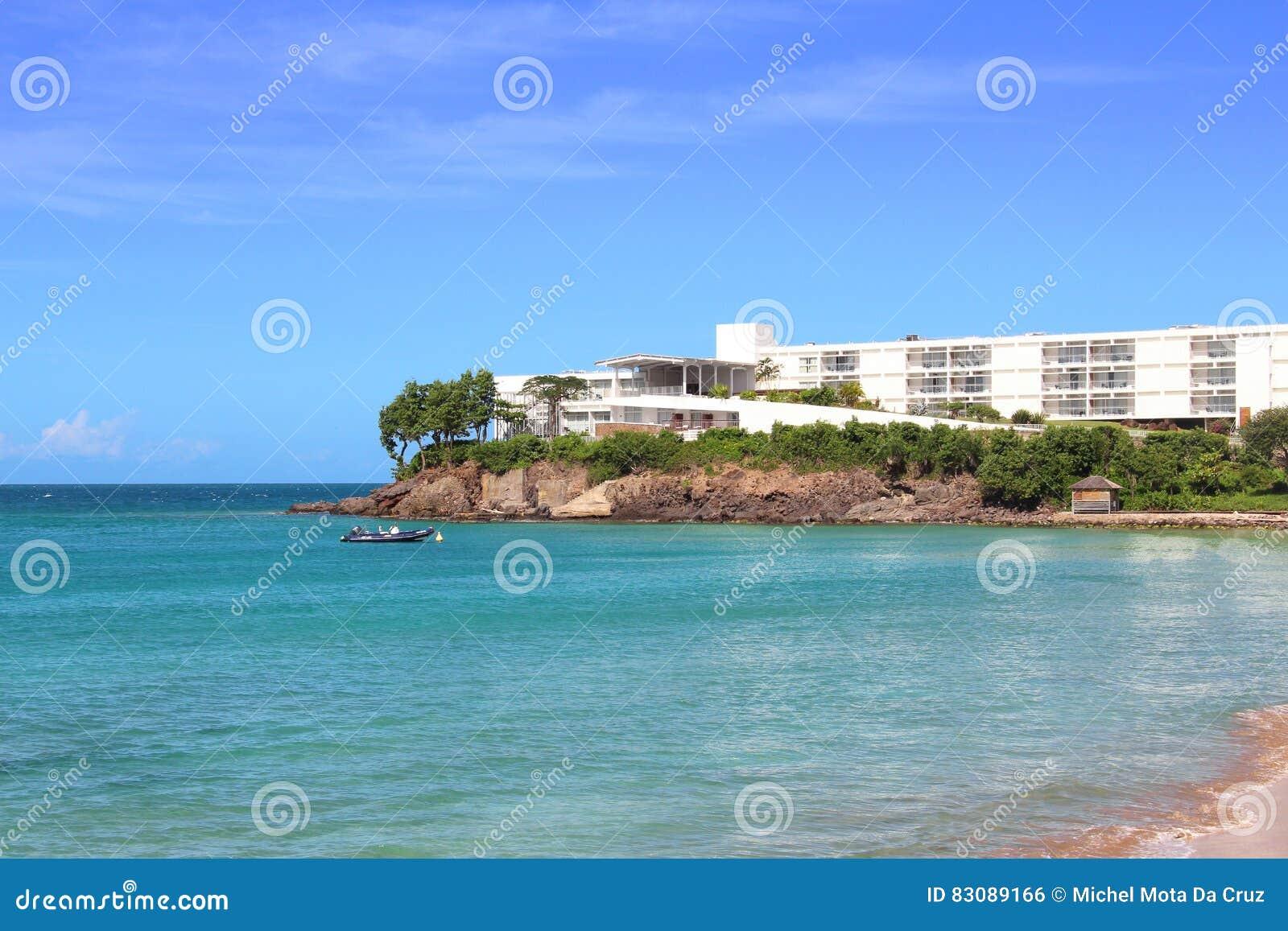 De toevlucht van de luxewaterkant, Guadeloupe