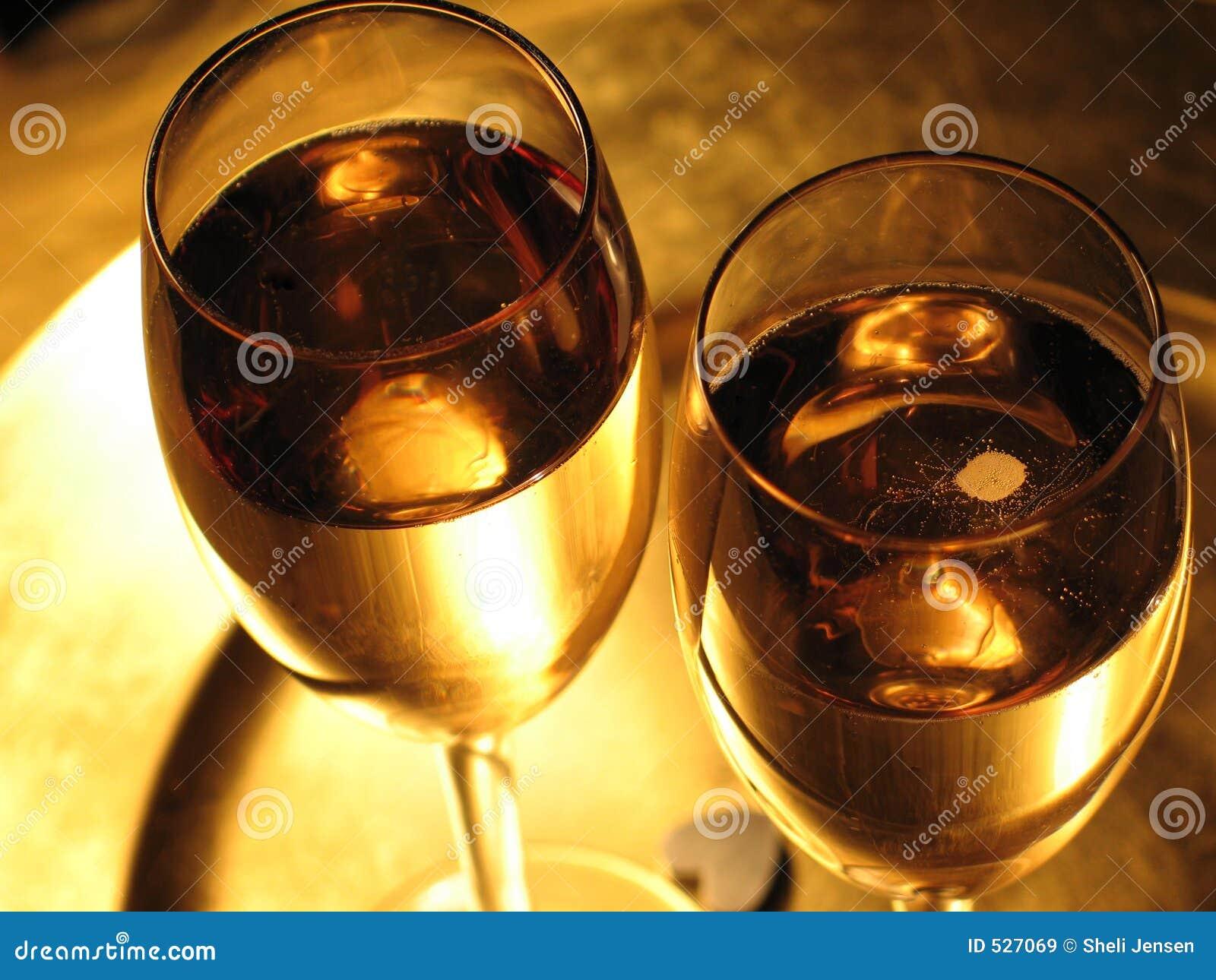 De toost van Champagne