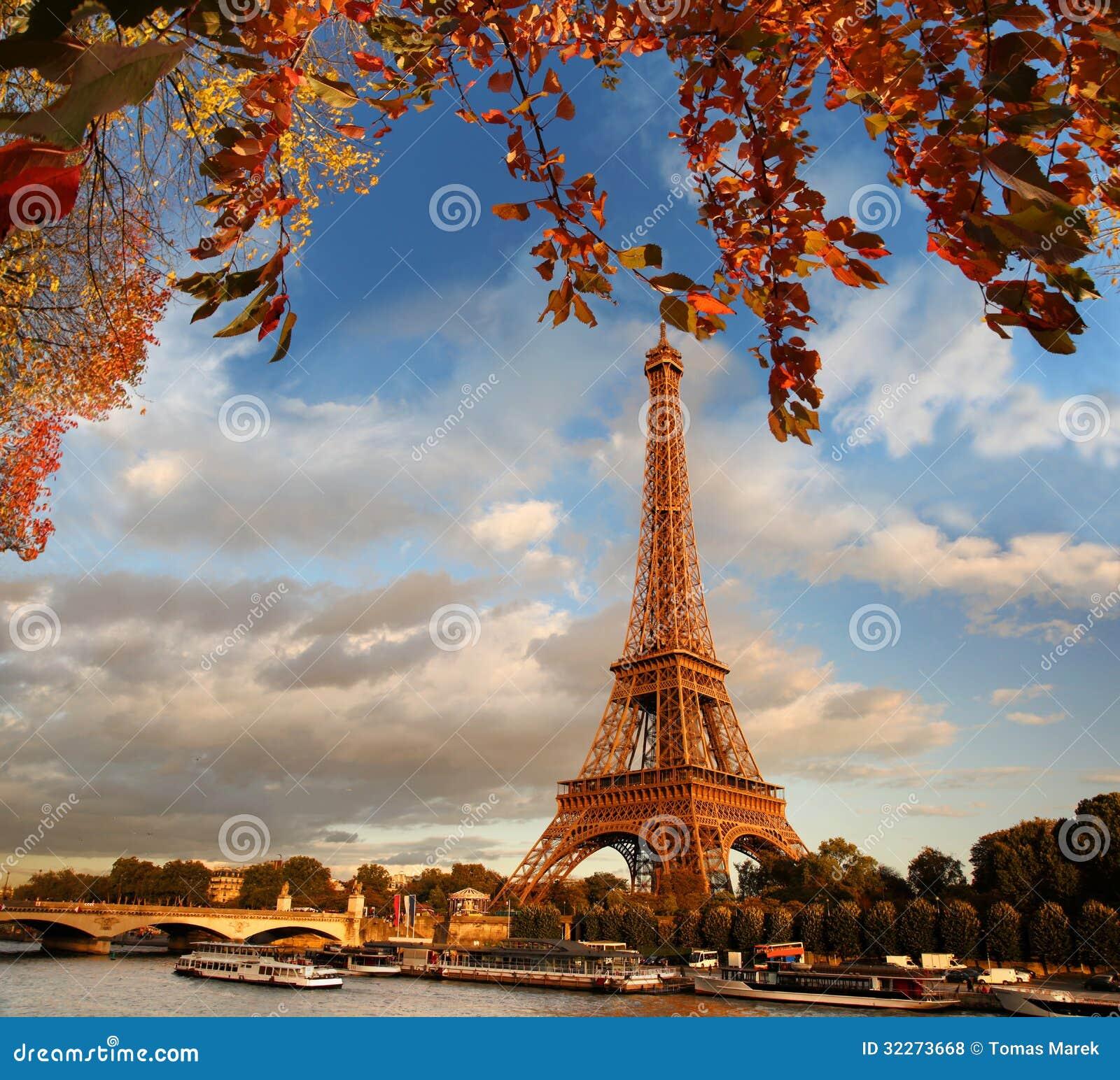 De Toren van Eiffel in Parijs, Frankrijk