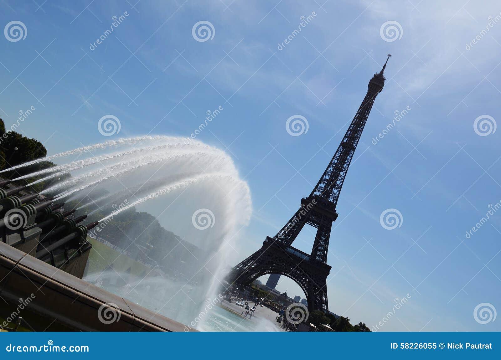 De Toren van Eiffel, Parijs, Frankrijk