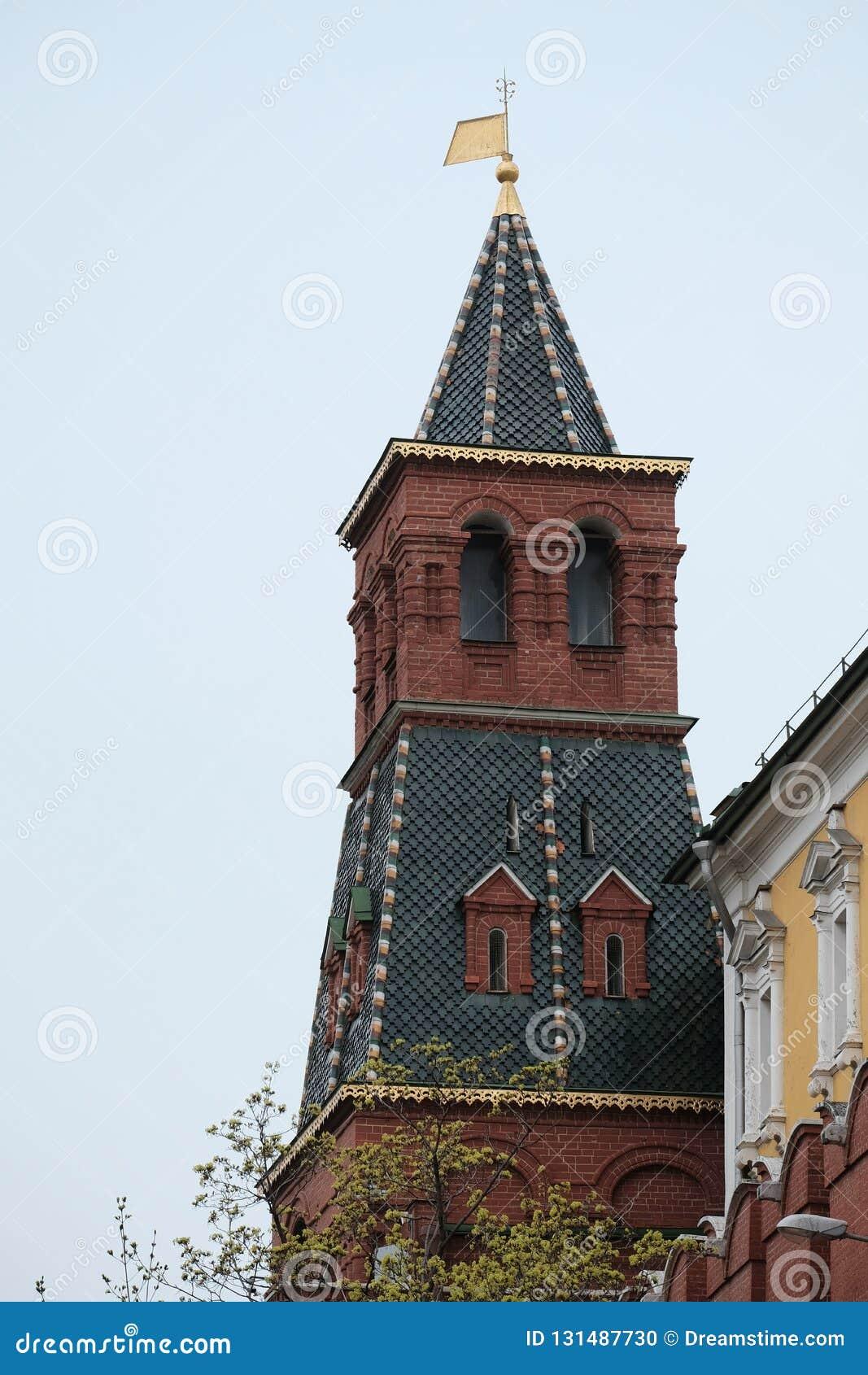 De toren van het Kremlin