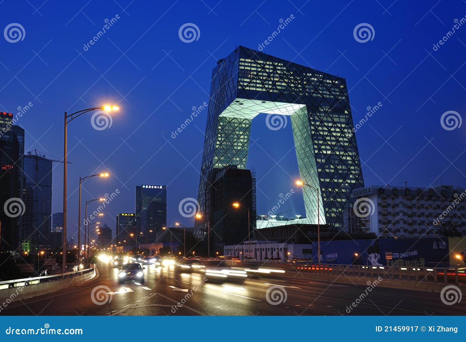 De Toren van kabeltelevisie van China Peking
