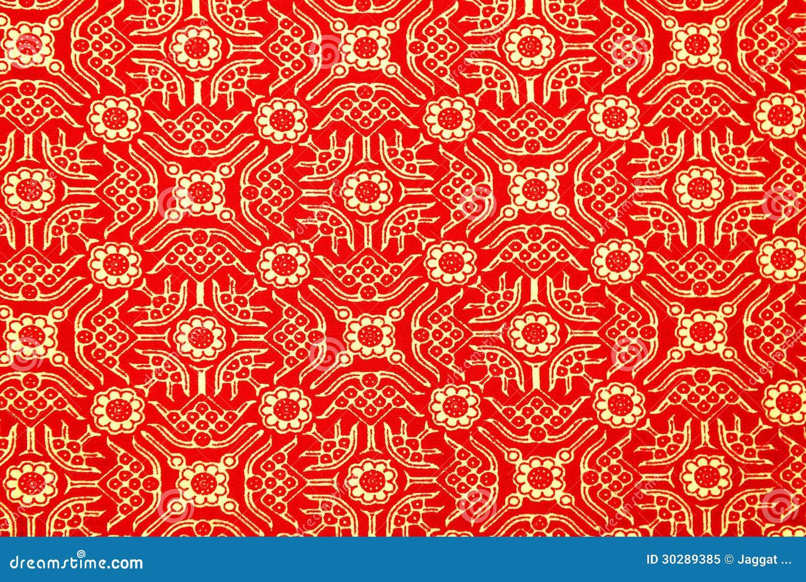 Het traditionele Patroon van de Sarongen van de Batik