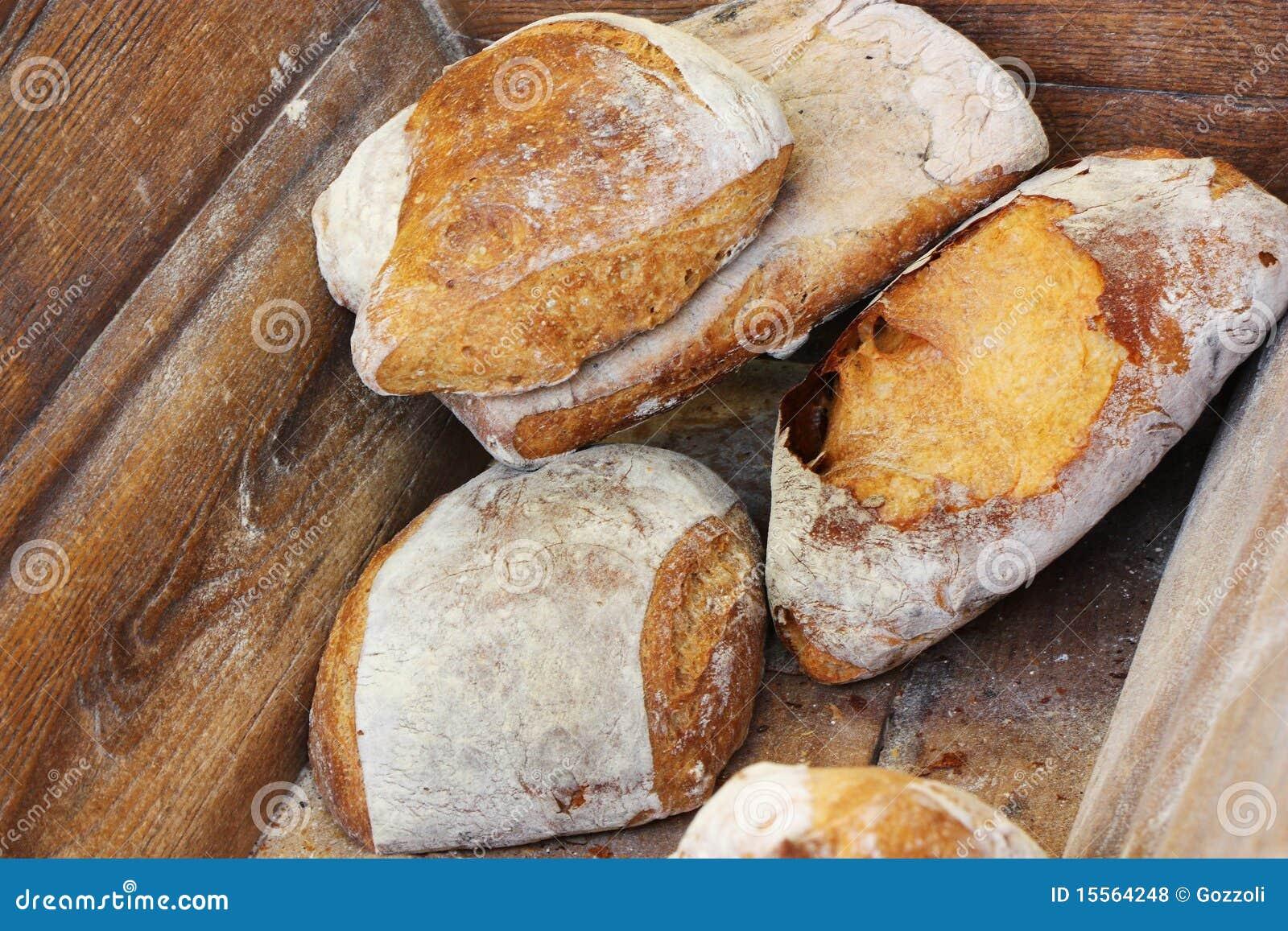 De traditionele Bak van het Stokbrood