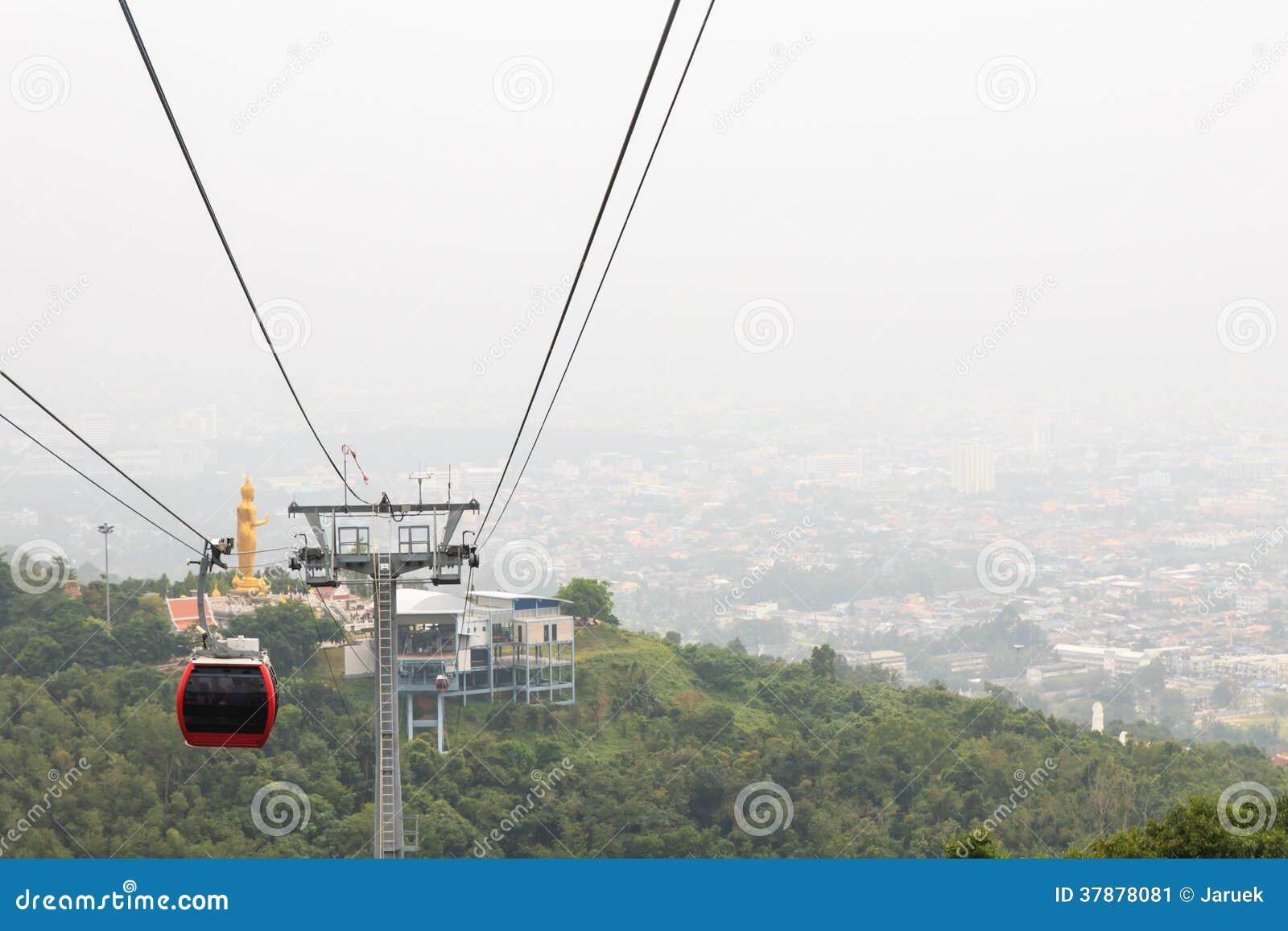 De Tram van Airial van de Poort van de hel