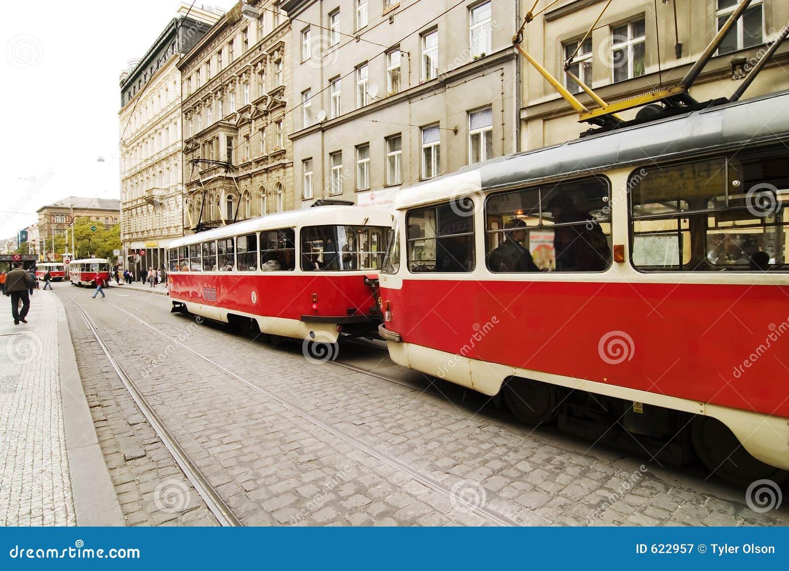 De Tram van Praag